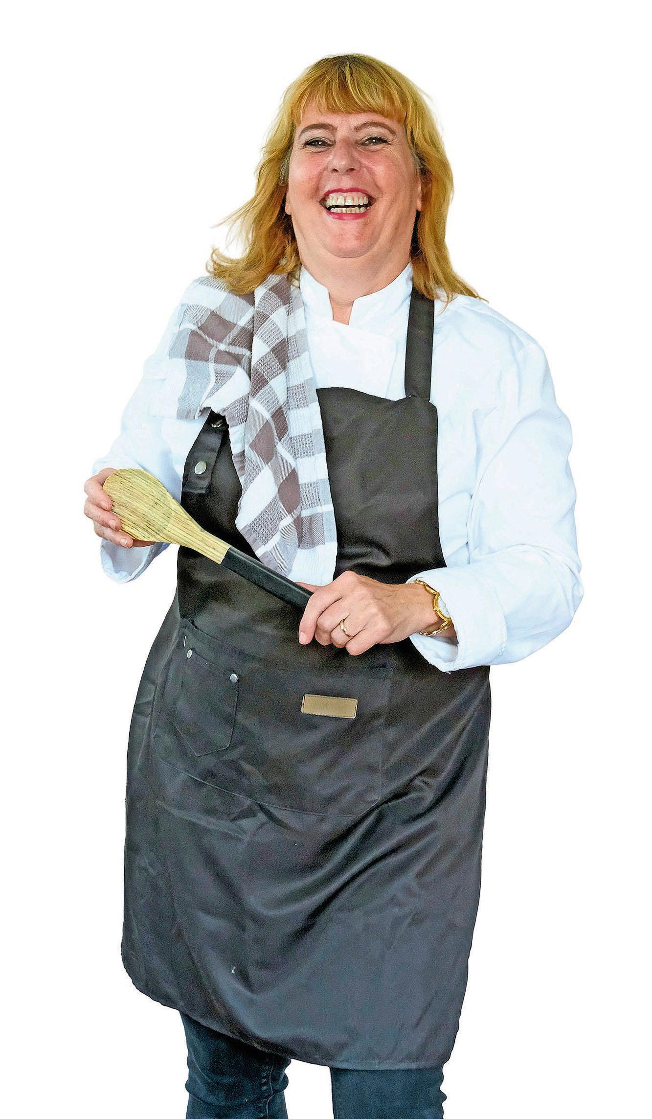 Nanja Pol kookt op minder dan anderhalve meter