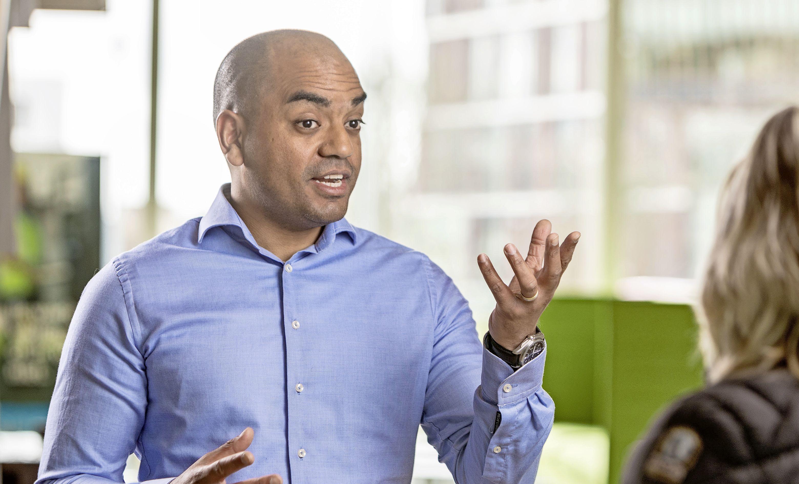 Patrick Florentinus-Ribeiro trots op zijn 'beste' werkgever Hoogheemraadschap Hollands Noorderkwartier