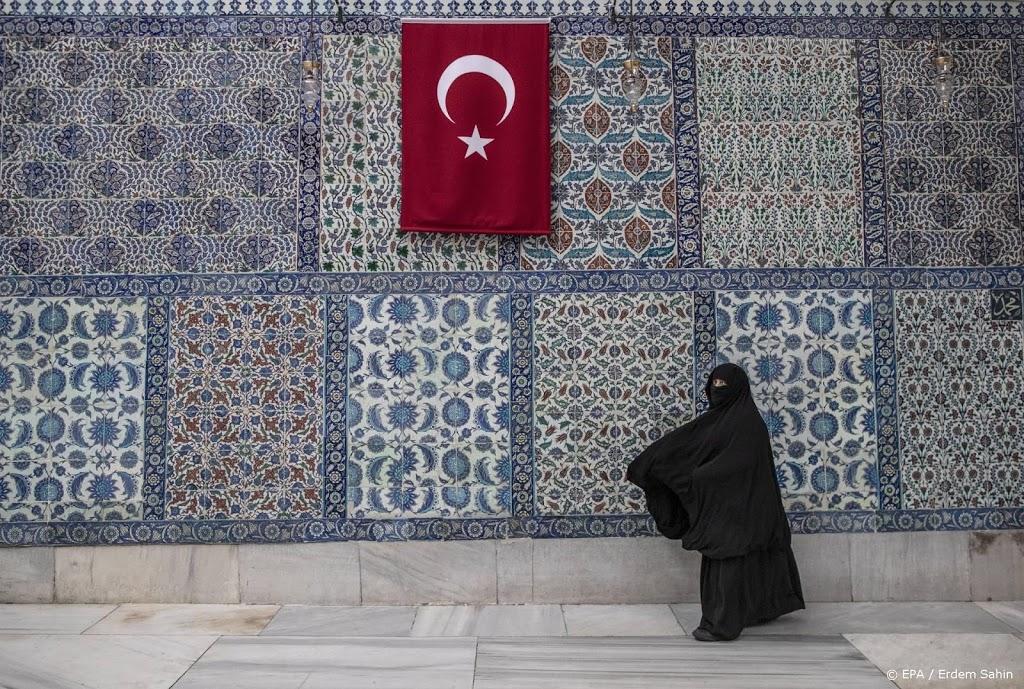 Turkije de komende weken vrijwel helemaal op slot