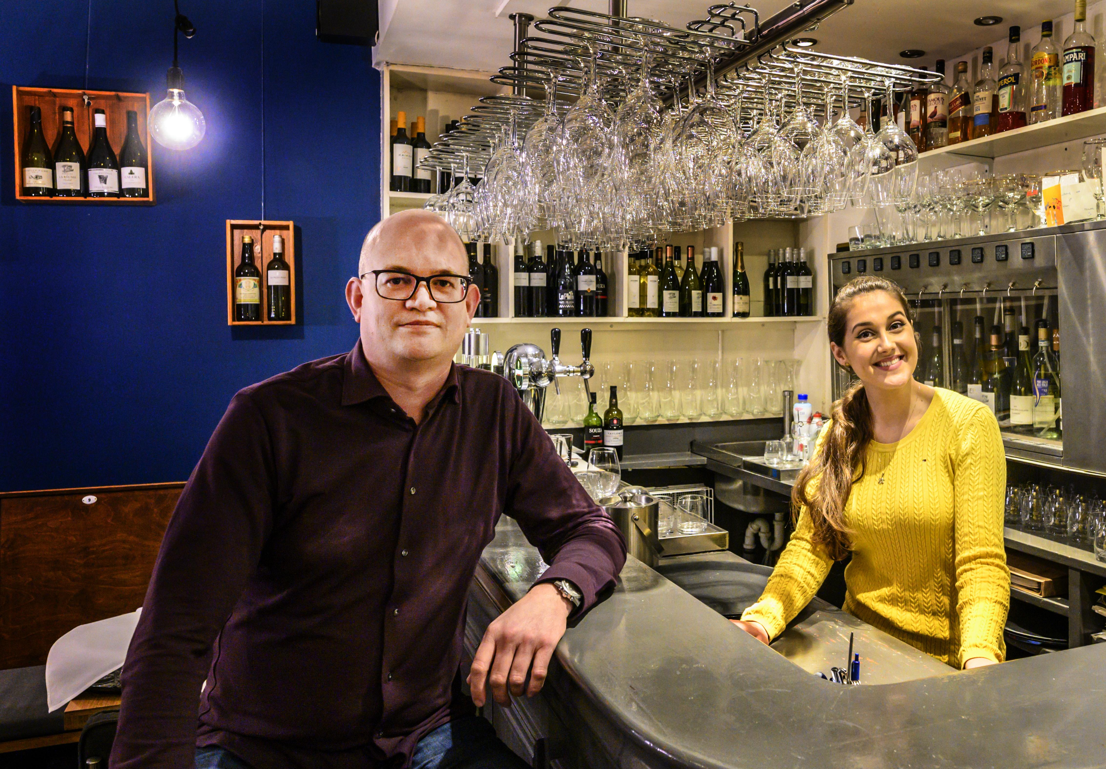 Marcel Tholen is toe aan nieuw Haarlems horeca-avontuur: hij stopt met restaurant en begint een wijnbar