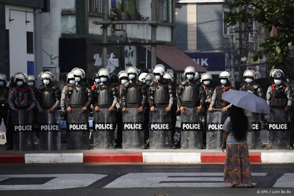 Politie Myanmar arresteert betogers na kritiek VN-gezant