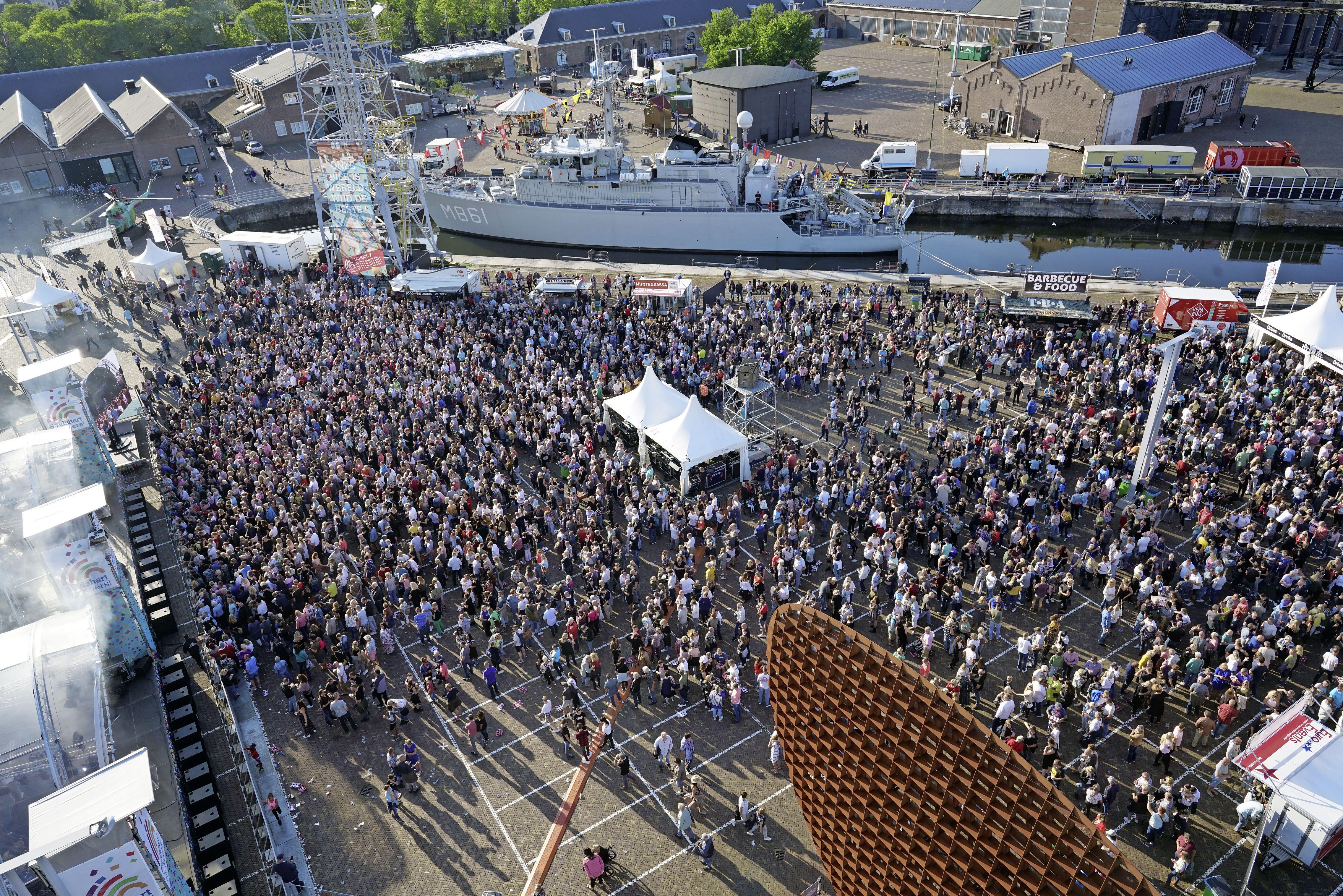Woningstichting bestaat in 2022 honderd jaar en dat mag gevierd; een weekend lang feest op Willemsoord