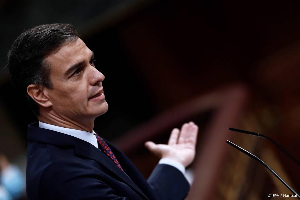 Spaanse regering zondag bijeen over uitroepen noodtoestand