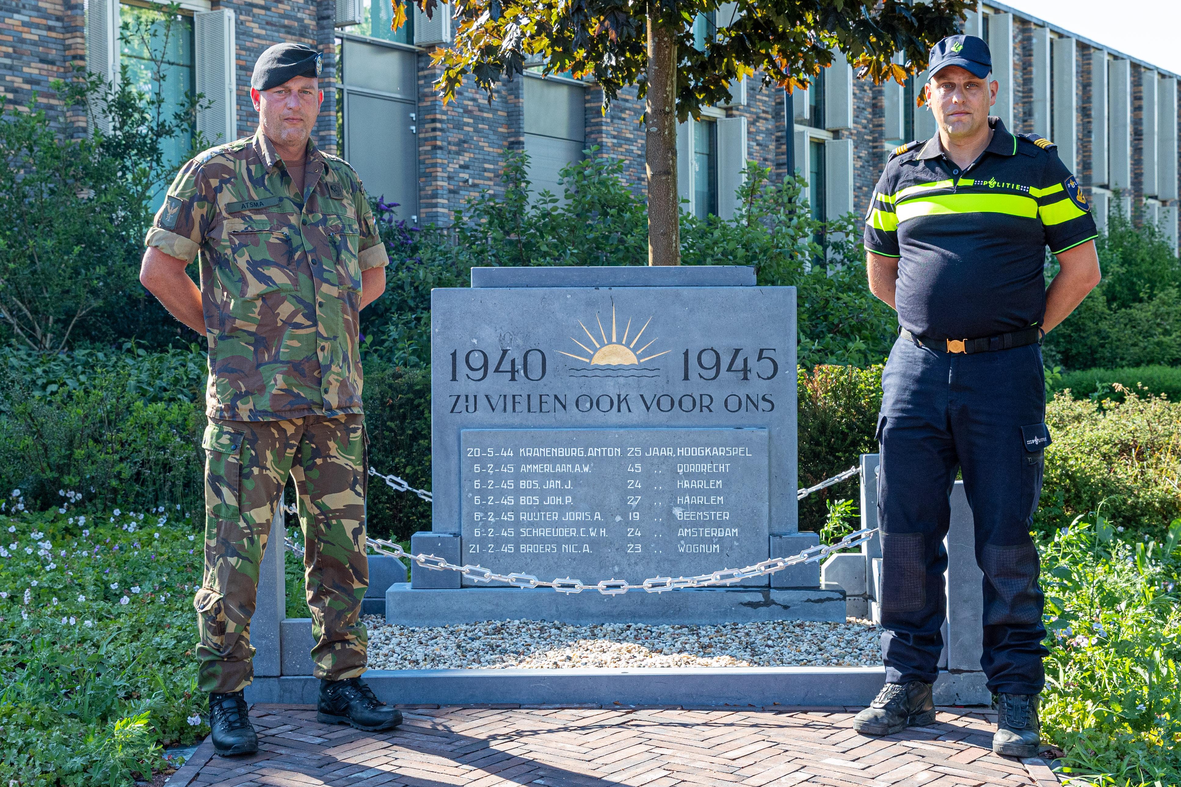 West-Friese 'brothers in arms' Ramon en Robert Atsma staan toch even stil bij afgelaste Veteranendag: 'Dat je als militair je leven geeft voor een ander begrijpt niet iedereen'