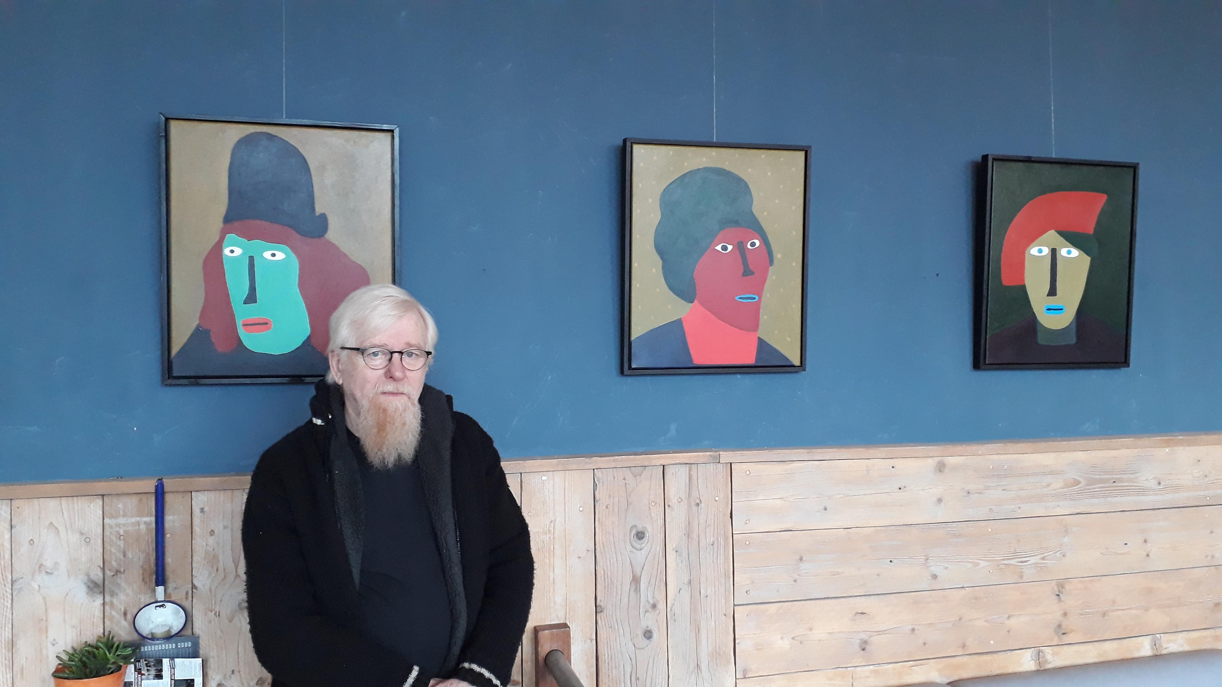 Zaanse kunstenaar Henk van der Pluijm 'ziek' van stelen schetsboek