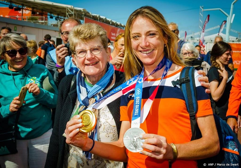 Eerste Olympische medaillewinnaars gehuldigd in Scheveningen