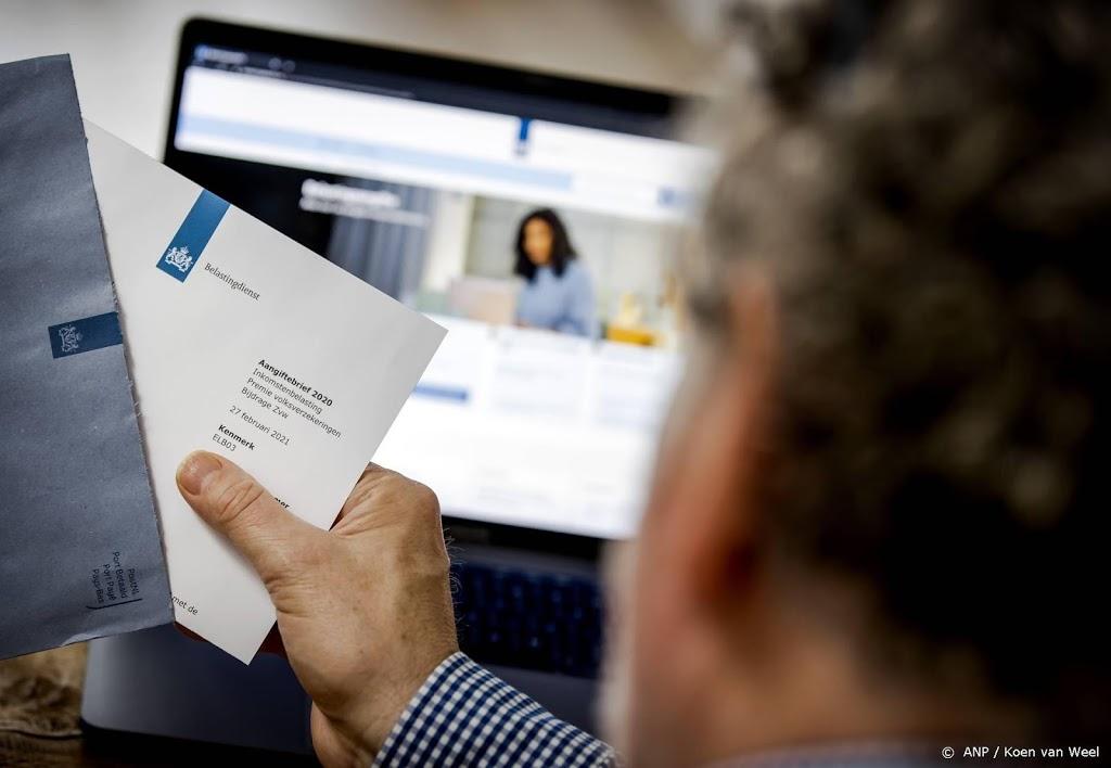 Belastingdienst beperkt aantal mensen dat aangifte kan doen