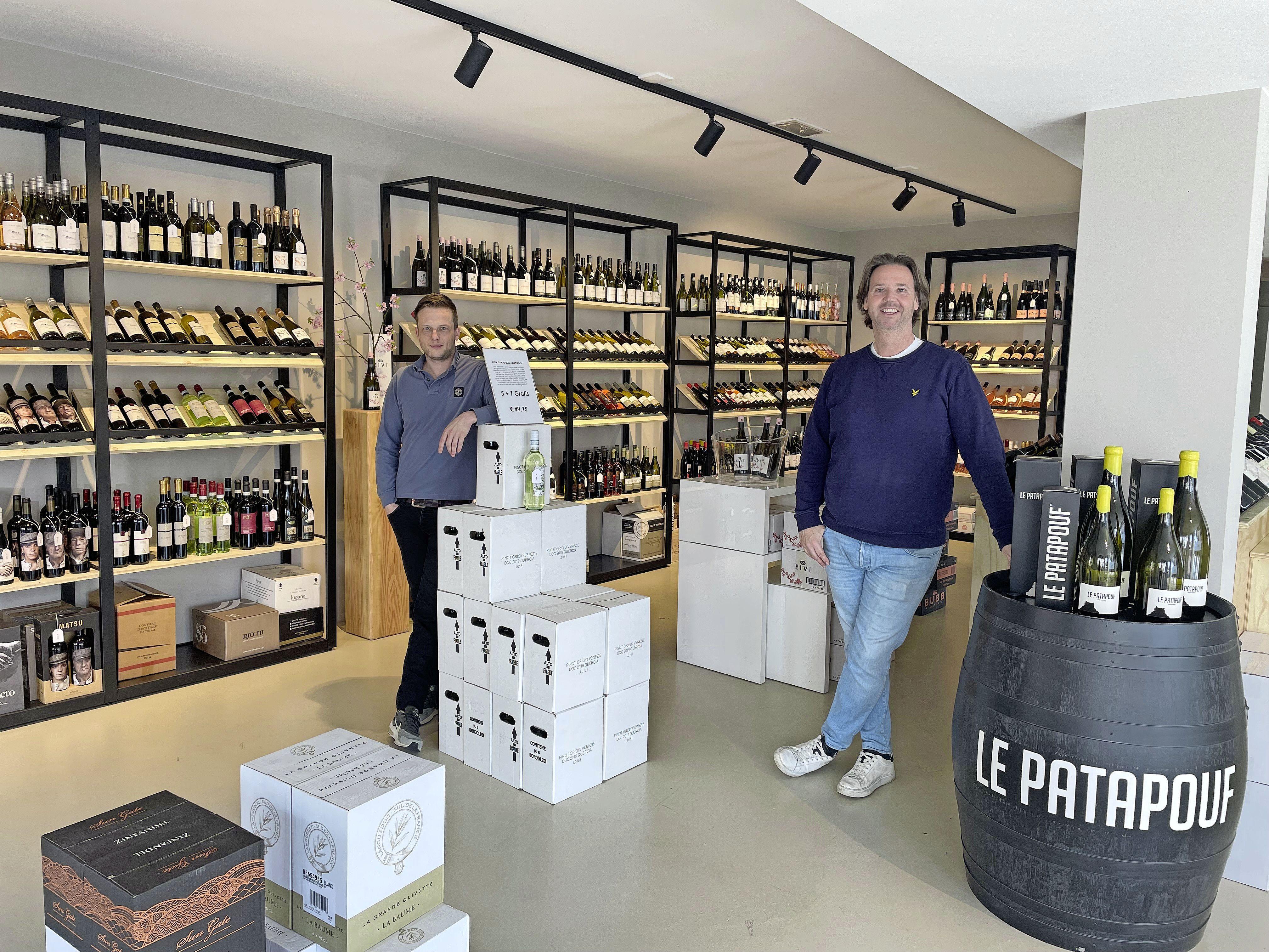Shoppen: Drie mannen openen nieuwe wijnwinkel in de boodschappenstraat van Leiden