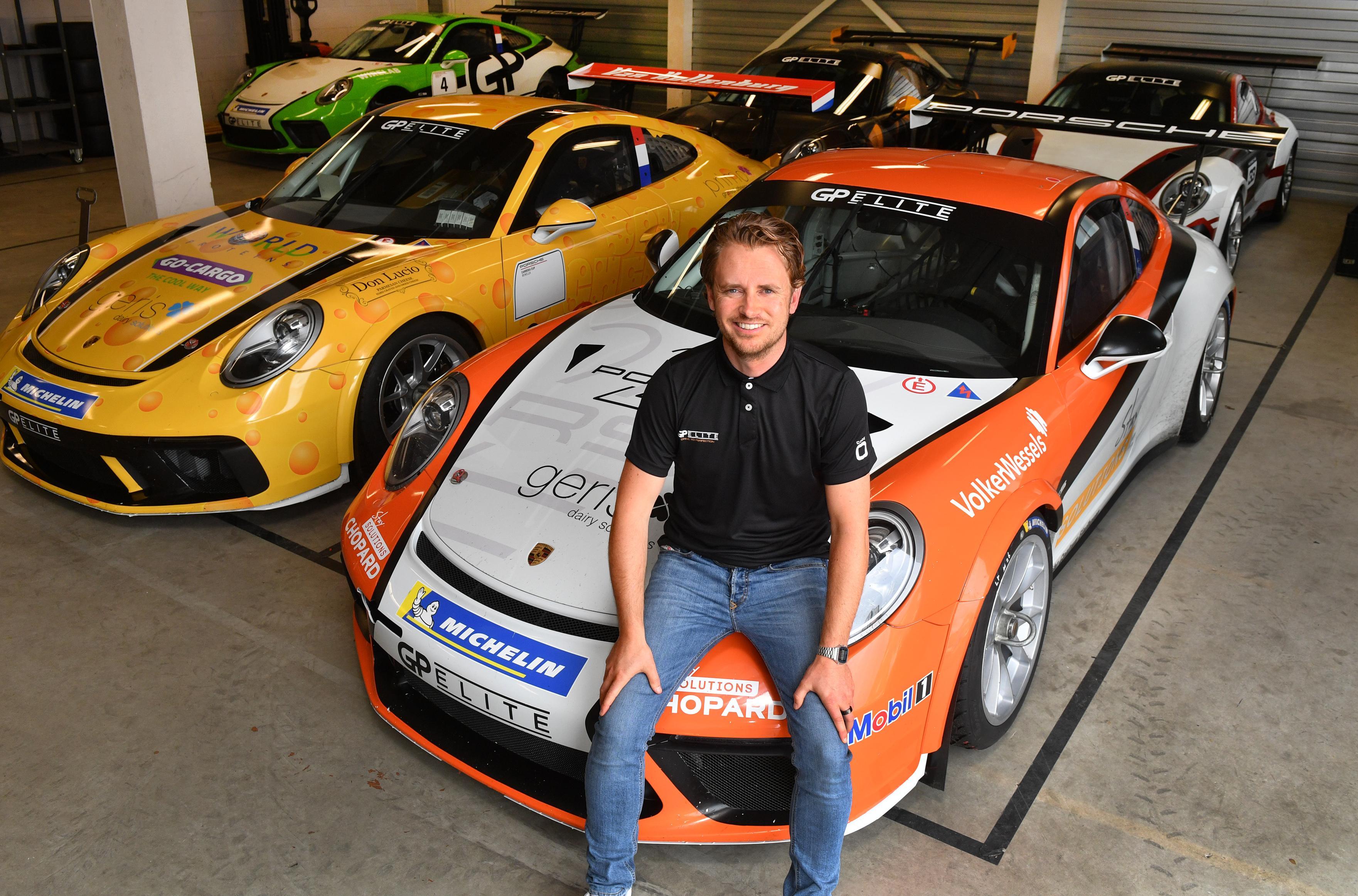 Marc Schipper met racebedrijf in debuutjaar meteen bij de wereldtop van de Porsche Supercup: Waar Max Verstappen nog moet wachten, won GP Elite al een race tijdens een F1-weekend