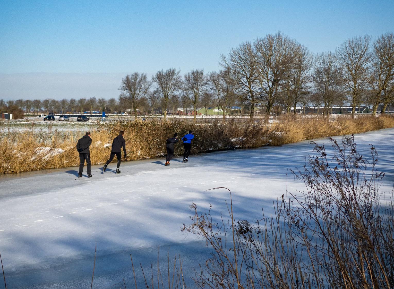 Liveblog: schaatsgekte en ijspret
