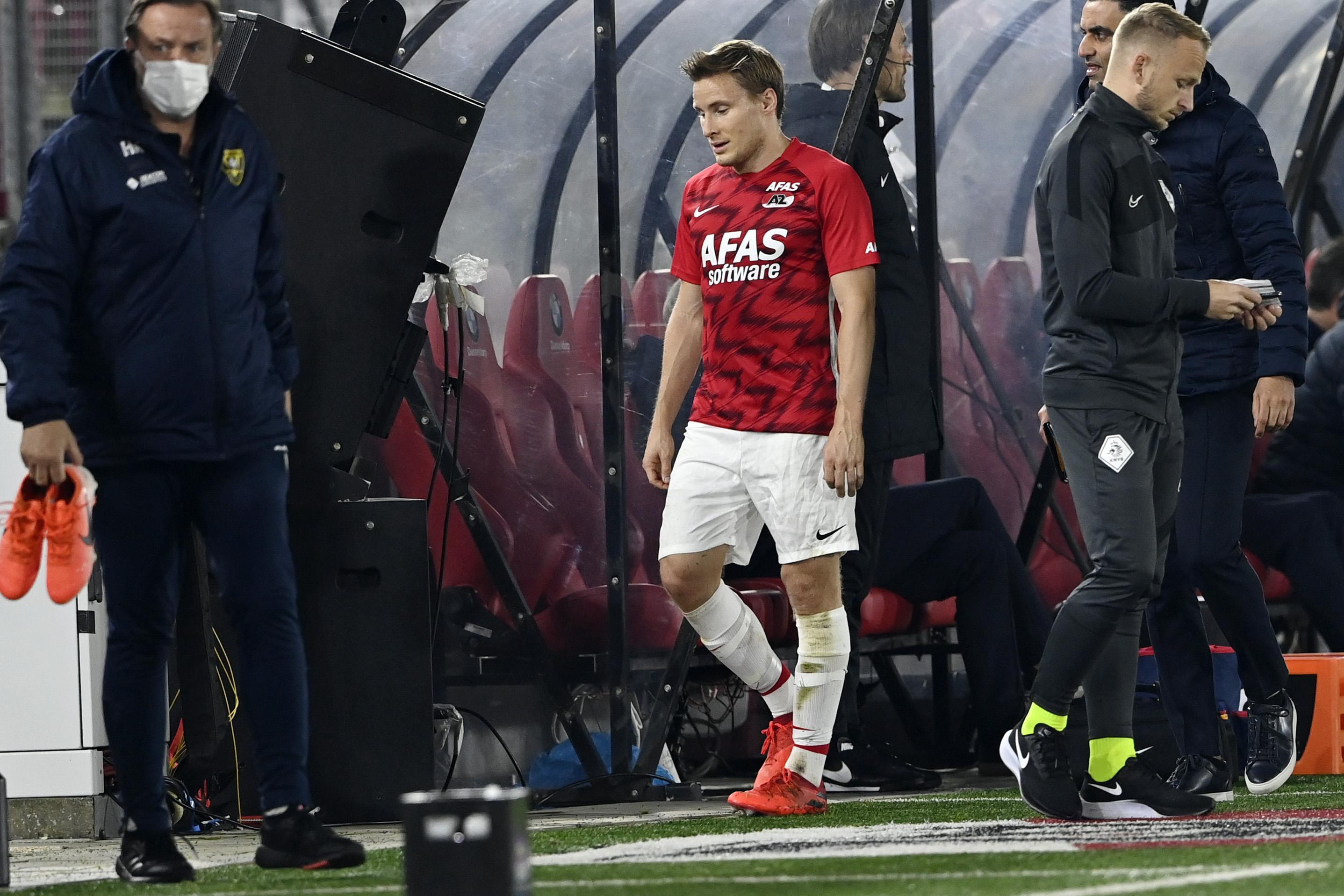 AZ-verdediger Jonas Svensson geschorst, maar wel één wedstrijd minder dan was voorgesteld
