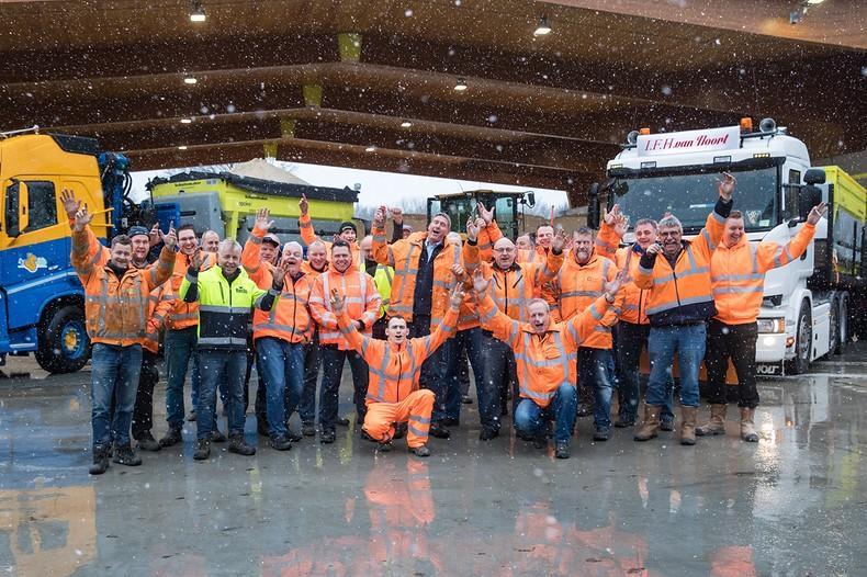 Deze mannen houden de snelwegen in 't Gooi en Eemland begaanbaar