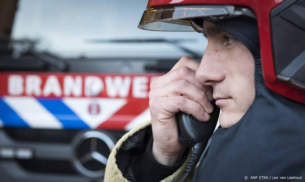 Brand in kelder van voormalig bedrijfspand in Gouda