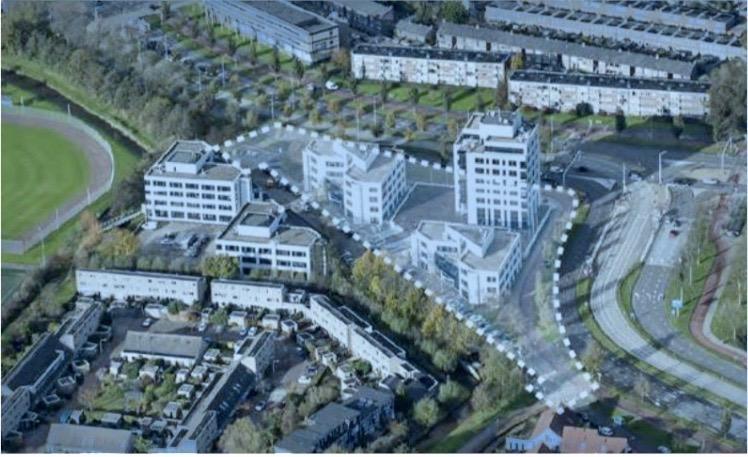 Kantoorpanden Schipholpoort in Haarlem-Schalkwijk maken plaats voor huizen leraren