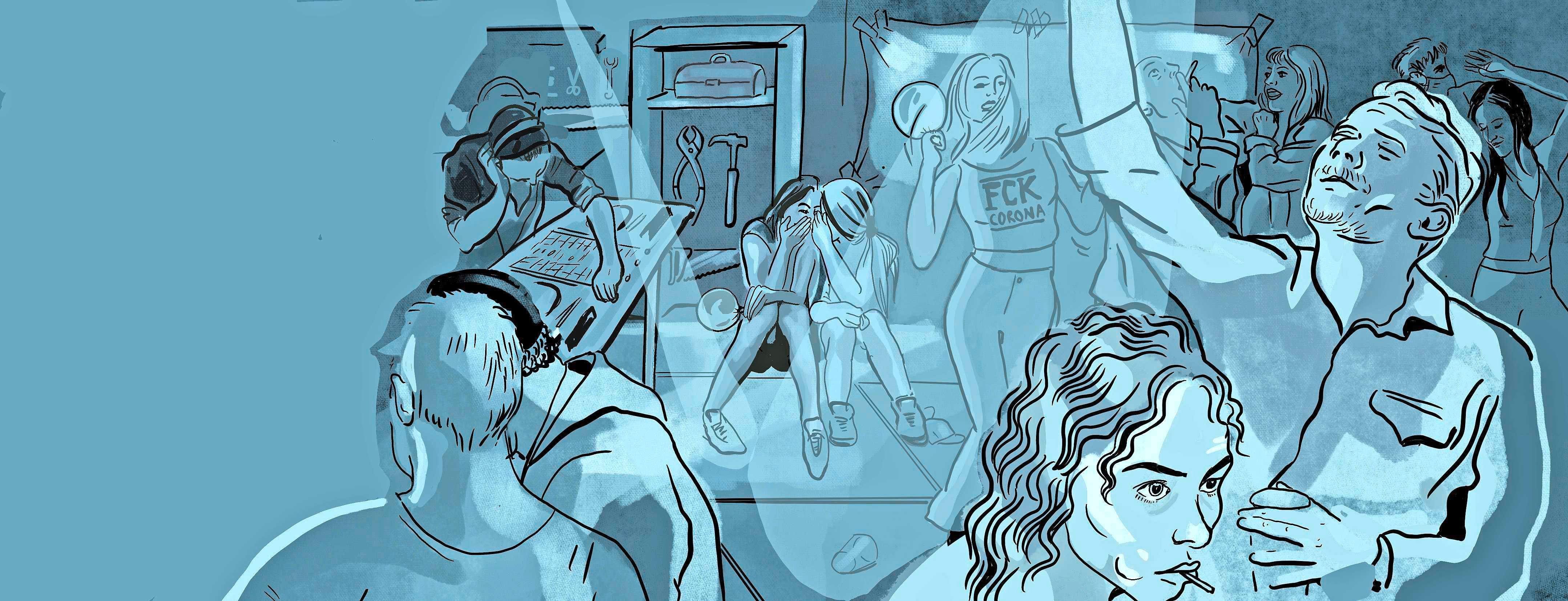 Illegaal feesten met drugs tijdens lockdown in een loods: 'Even ontsnappen aan dat door overheid opgedrongen keurslijf'
