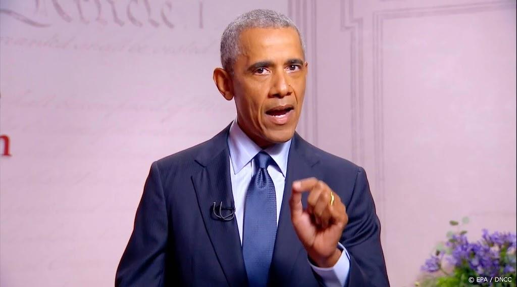 Obama: opvolging Ginsburg uitstellen tot na de verkiezingen