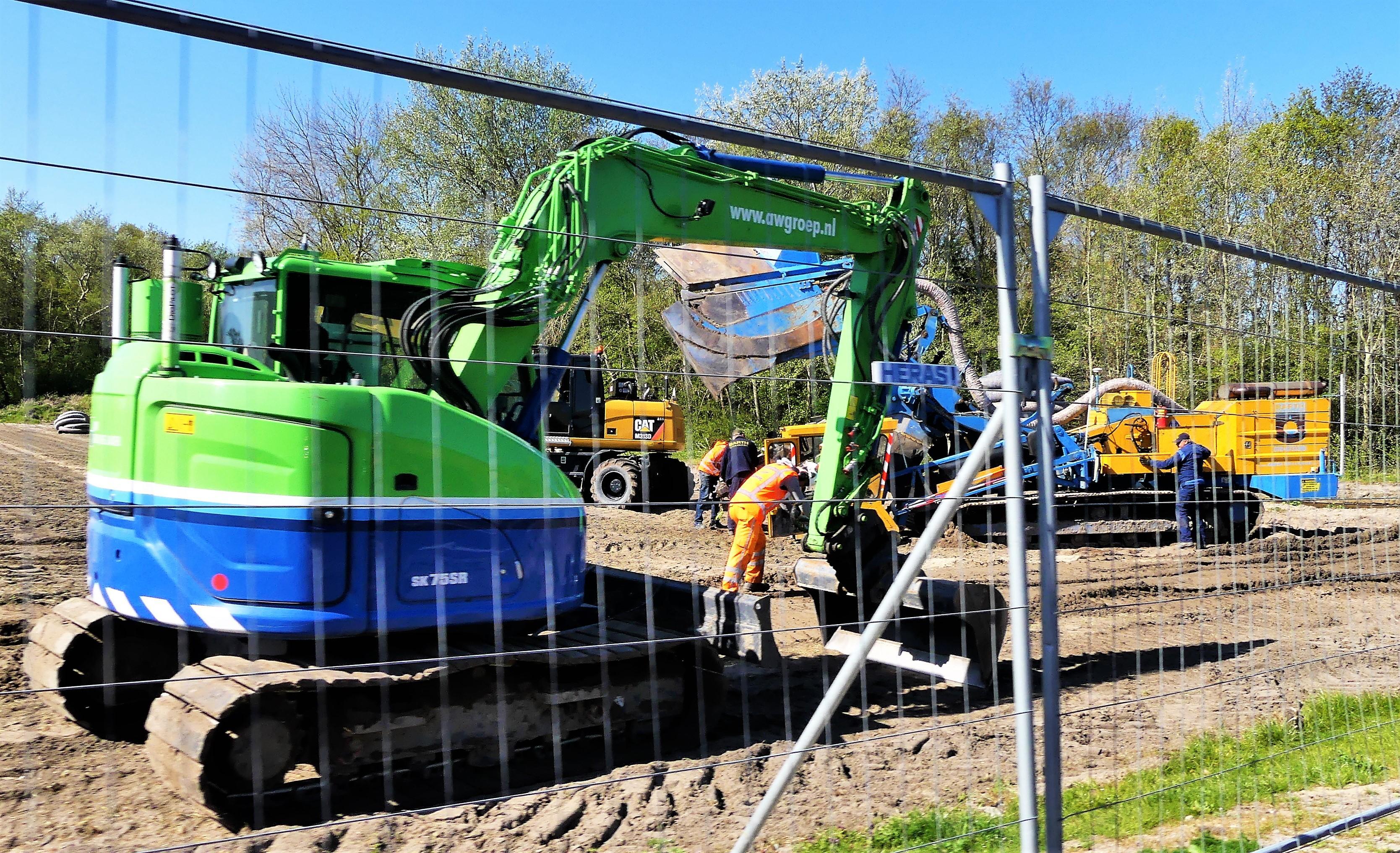 VVSB maakt van de nood een deugd en begint eerder met werkzaamheden aan sportpark in Noordwijkerhout