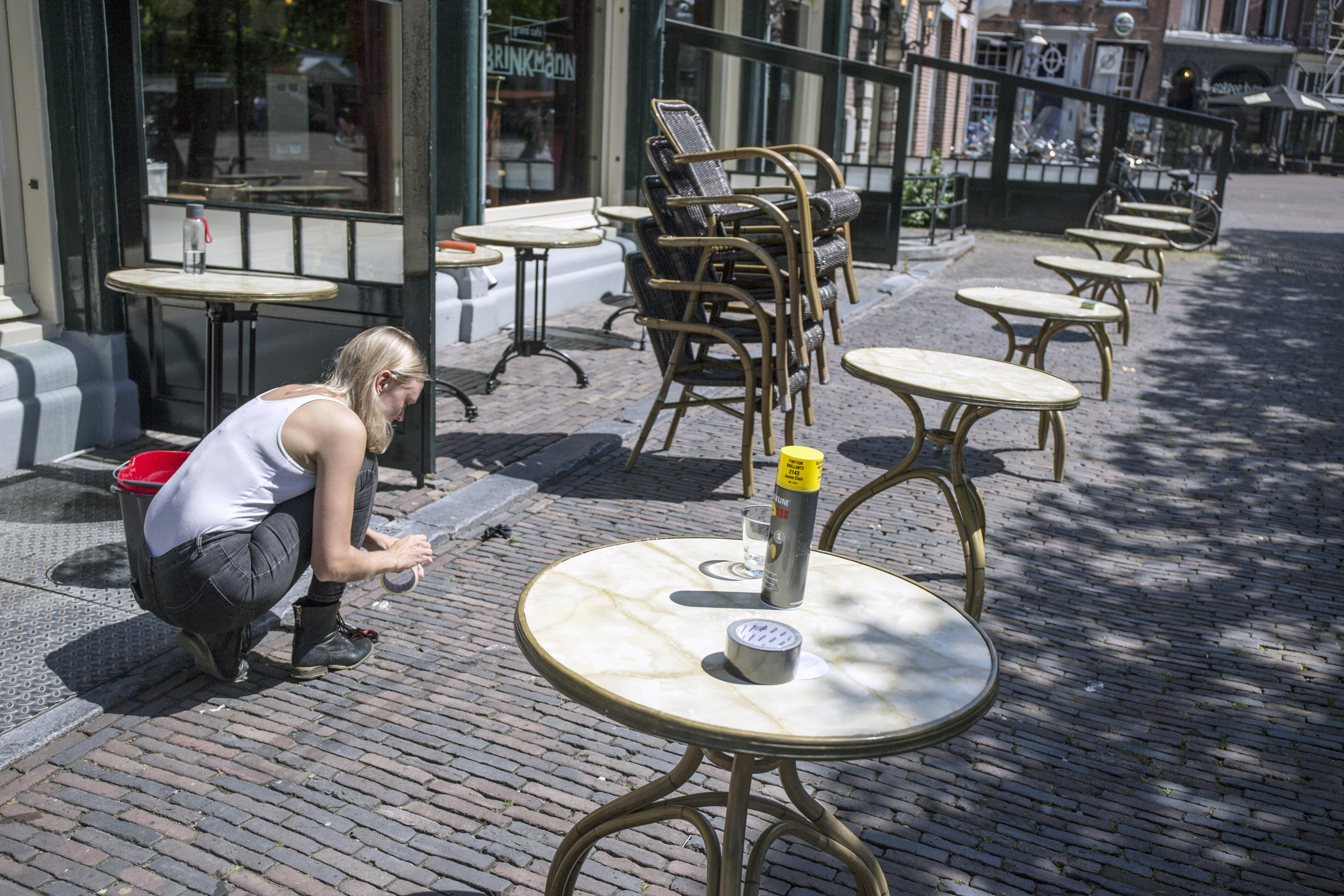 Veel ruimte voor terrassen in Haarlem