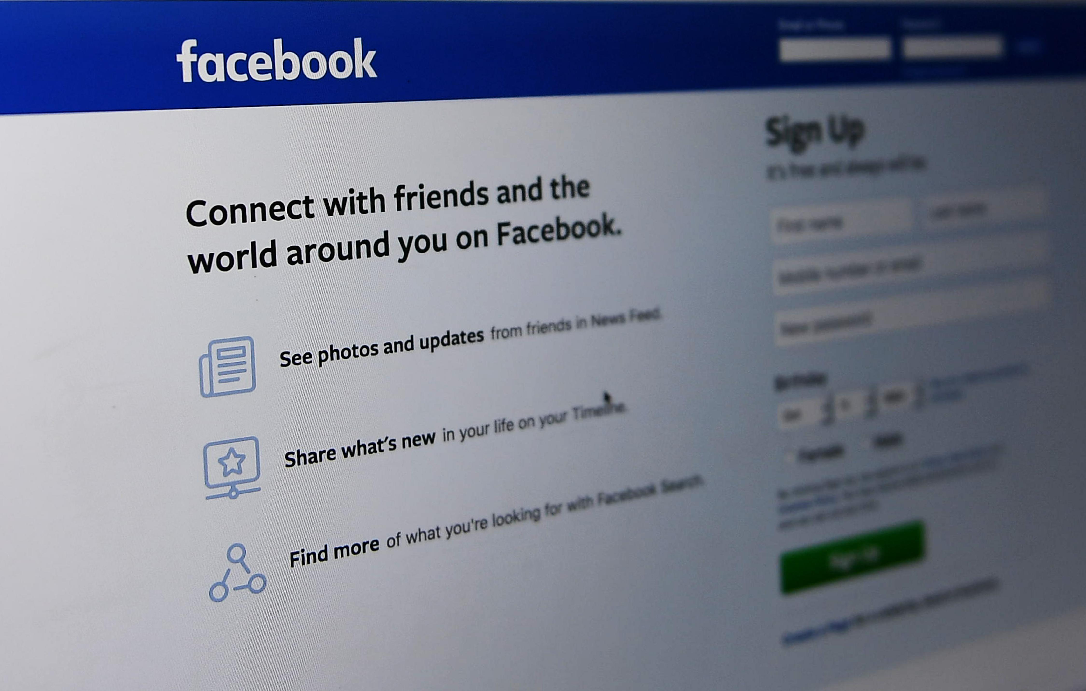 Privéberichten Facebook Gebruikers Online Buitenland Telegraafnl