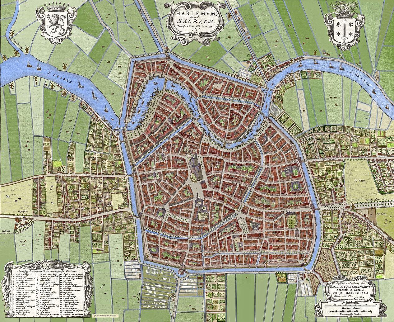 Haarlem in 1649: 'Mensen woonden hutjemutje in zo'n stad, met alle geuren en klanken die je voor lief moest nemen'