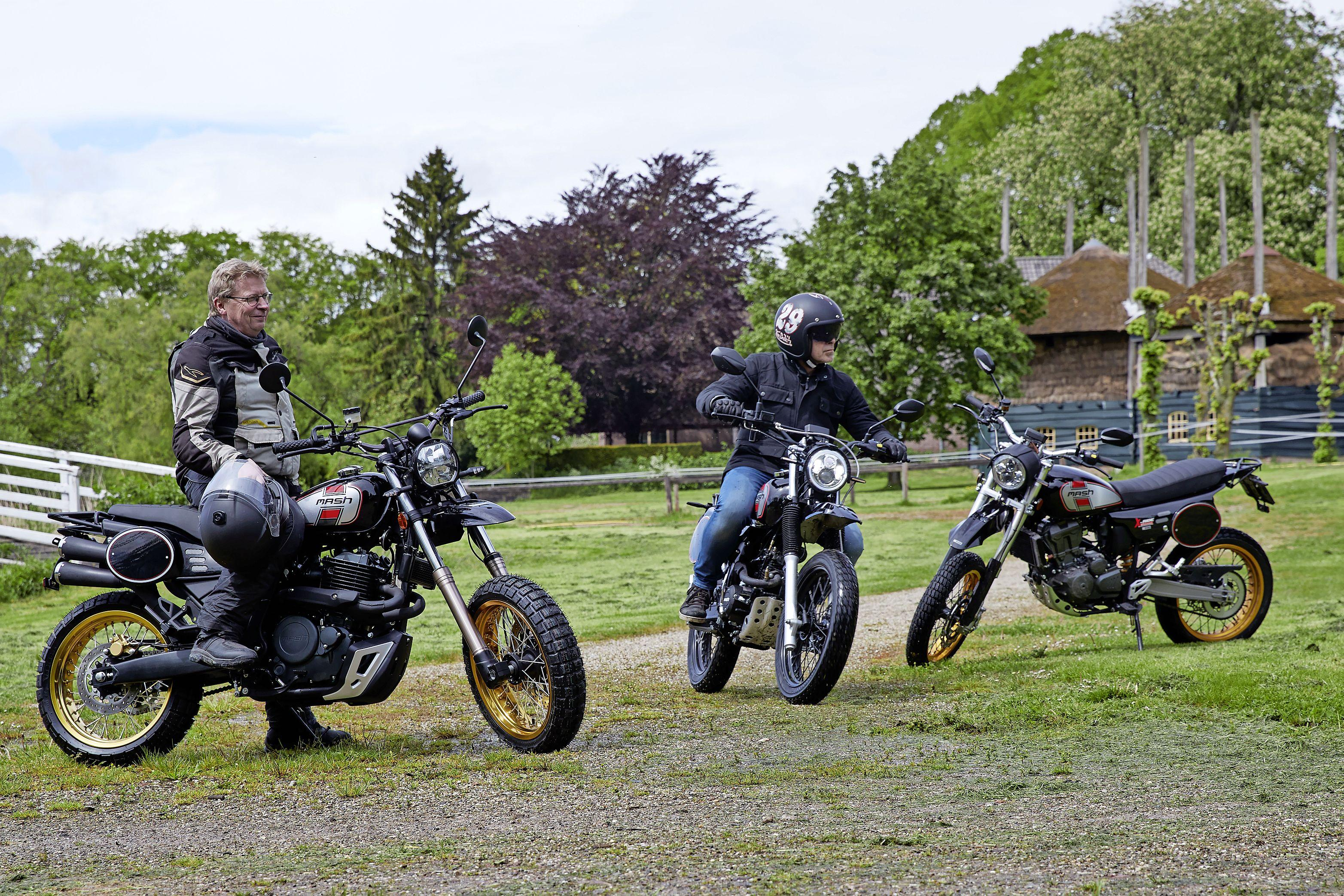 Mash X-Ride 650 krijgt een tweelingbroertje