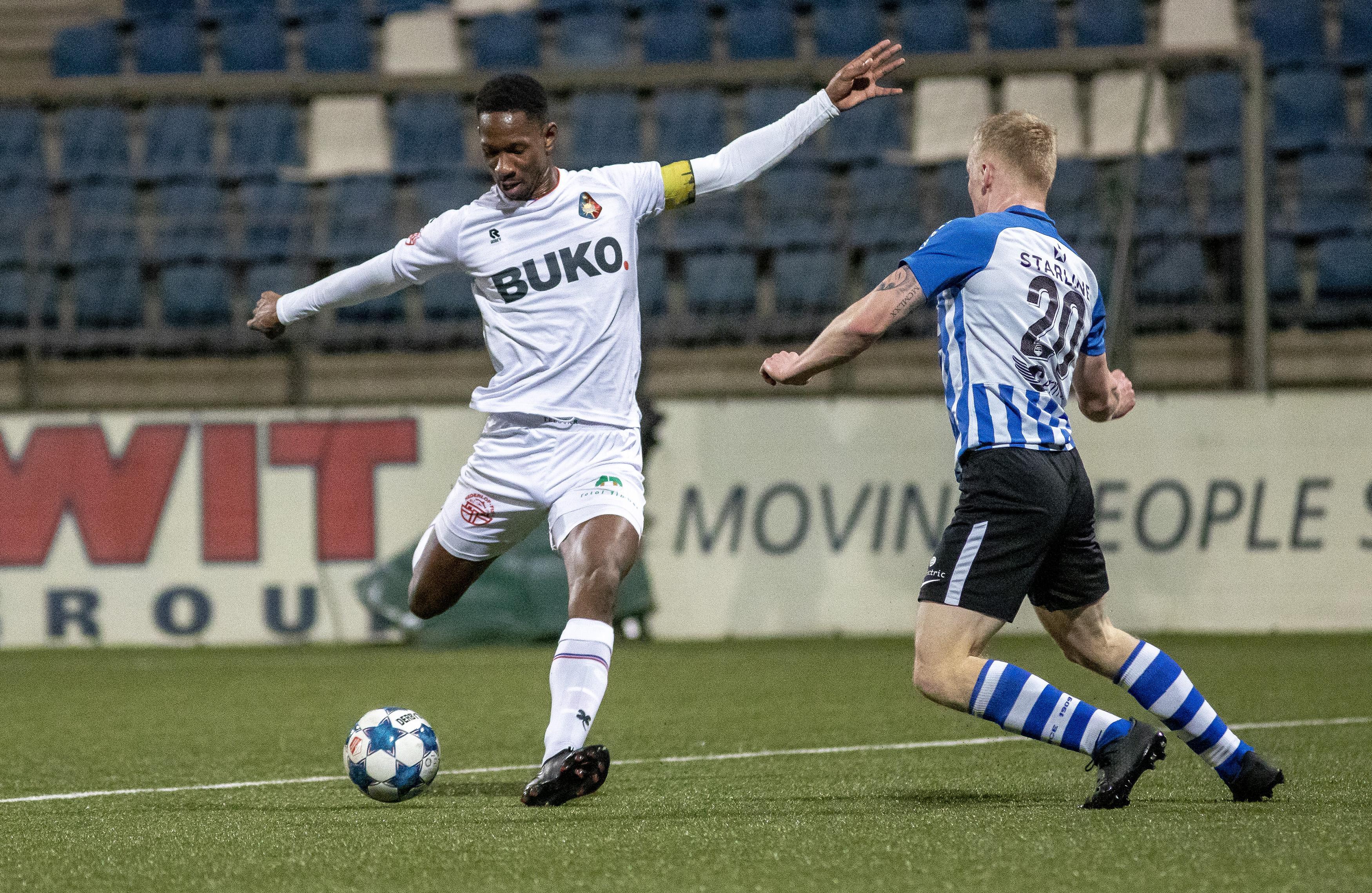 Telstar laat overwinning thuis diep in blessuretijd toch uit handen glippen: 1-1 tegen FC Eindhoven