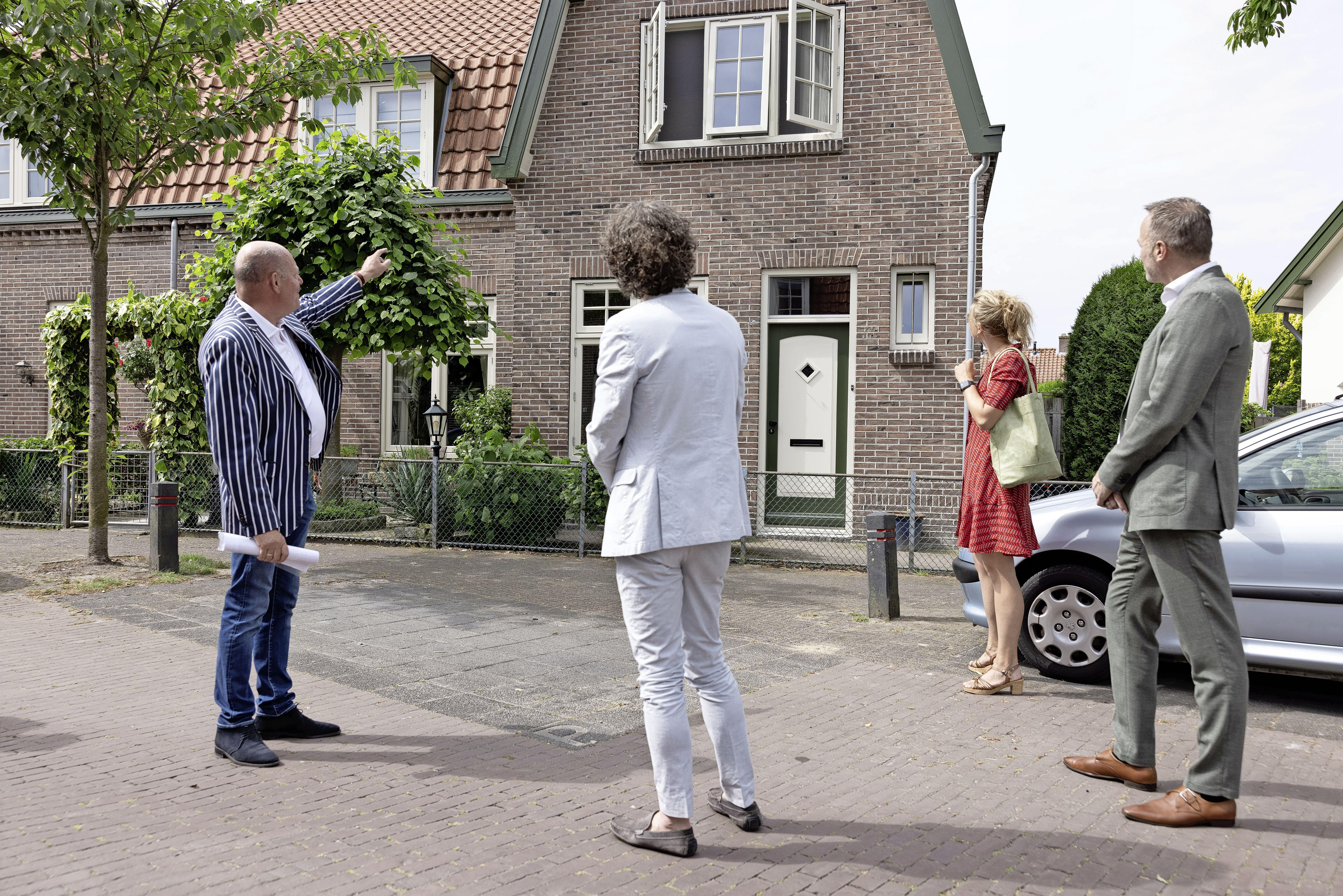 Facelift voor monumentale woningen in Hilversumse Bloemenbuurt-zuid afgerond