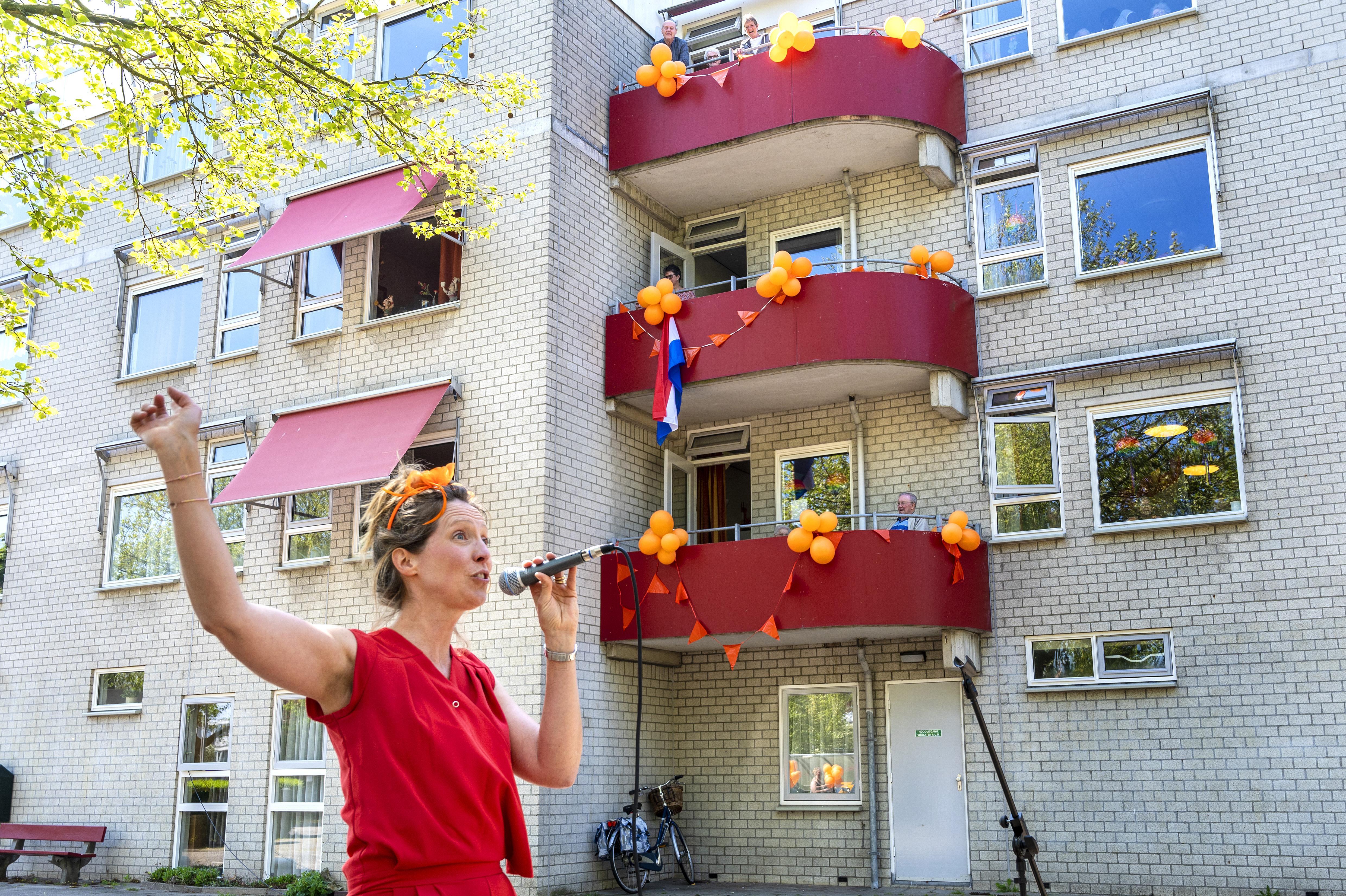 Ook in Haarlem Saamhorigheidsconcert, Marleen Bijleveld zingt bij zorgcentrum De Molenburg