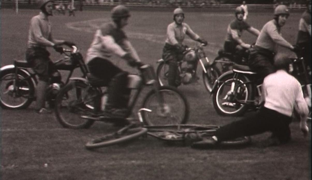 Bewegend Verleden: motorpolo-interland in Alkmaar, 1954 [video]