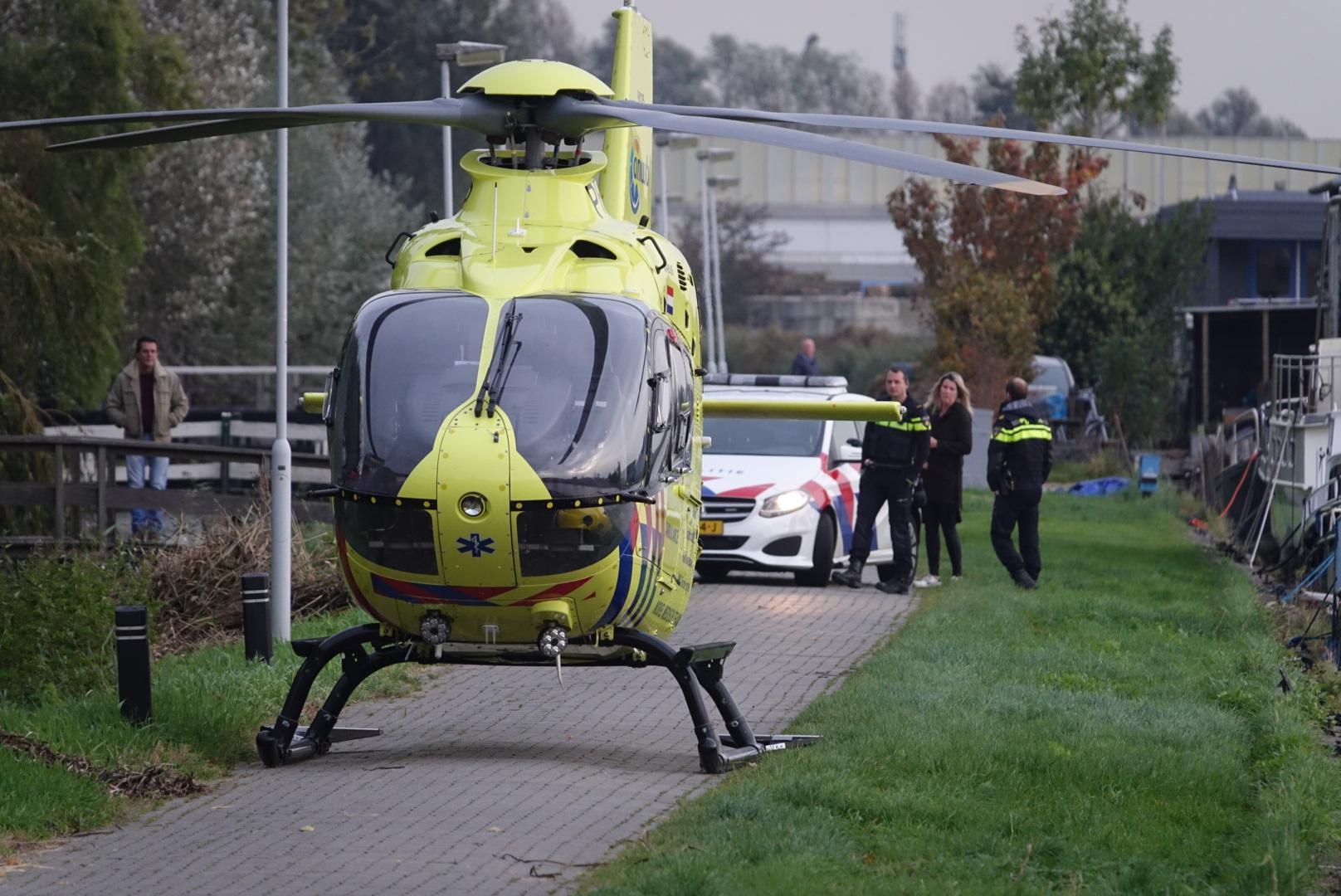 Vrouw zwaargewond bij ongeluk in Krommenie