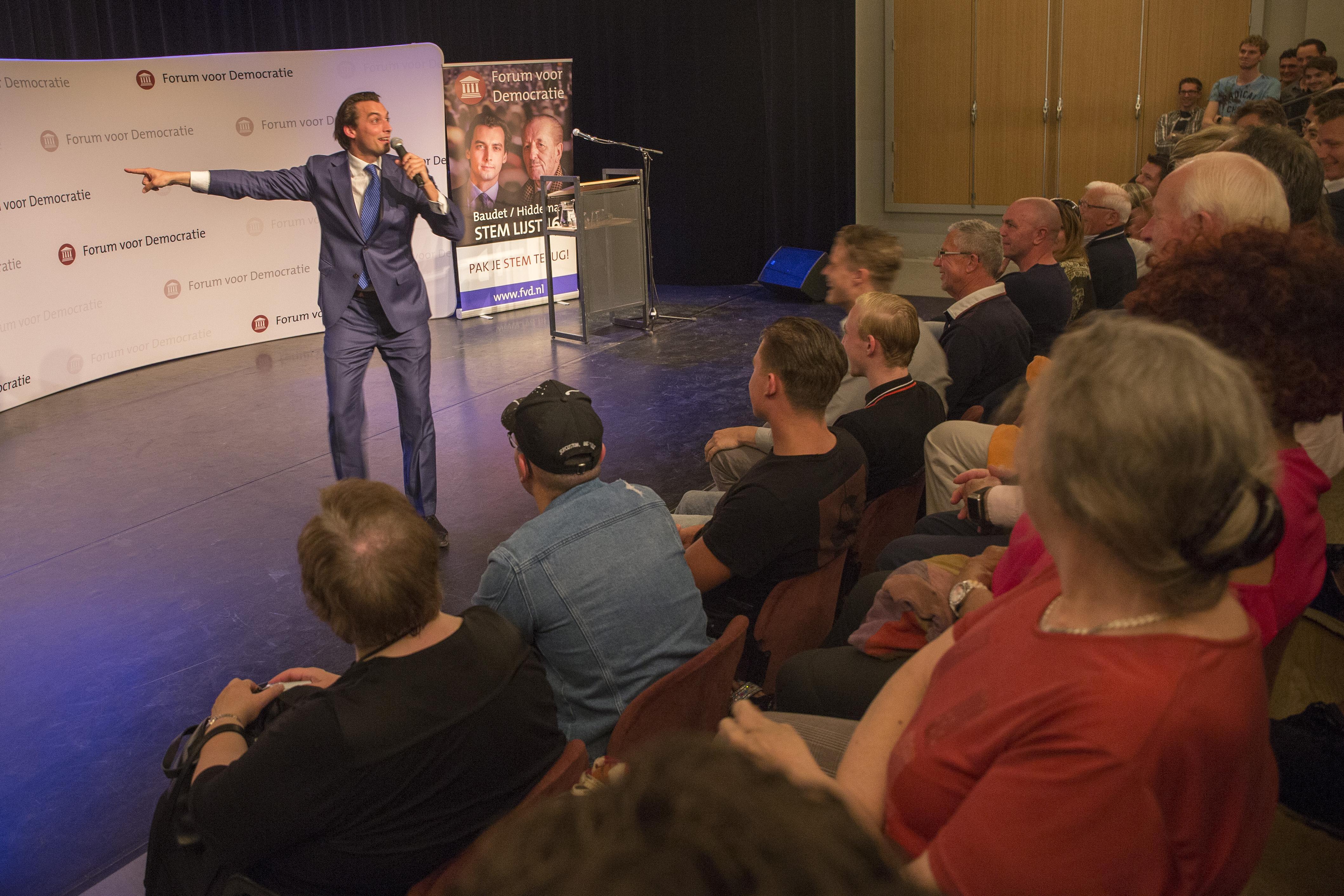 Forum voor Democratie doet niet mee aan raadsverkiezingen Den Helder