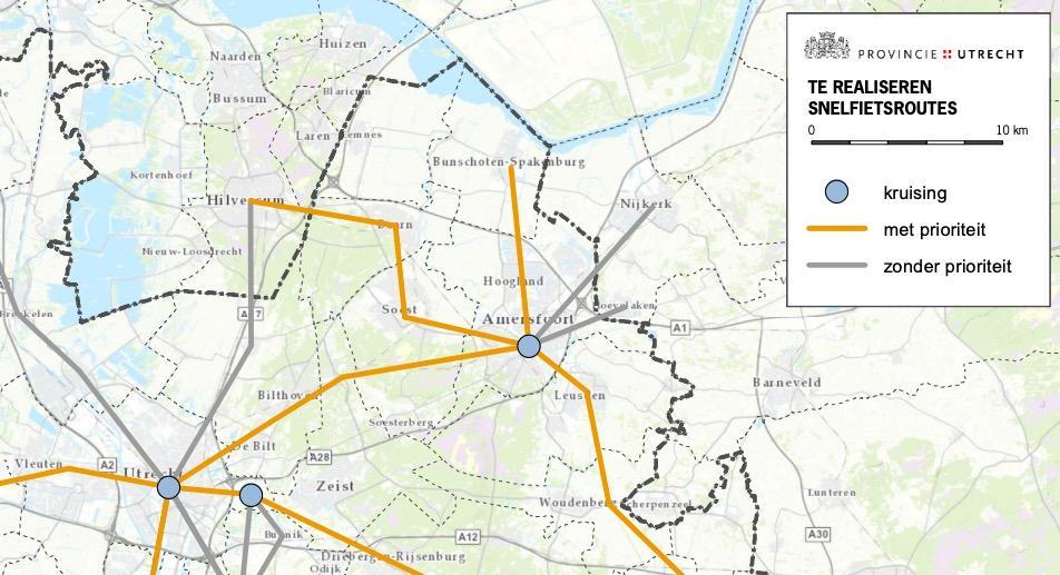 'Snel, comfortabel en veilig doorfietsen.' Snelfietsroute tussen Hilversum en Amersfoort een stap dichterbij