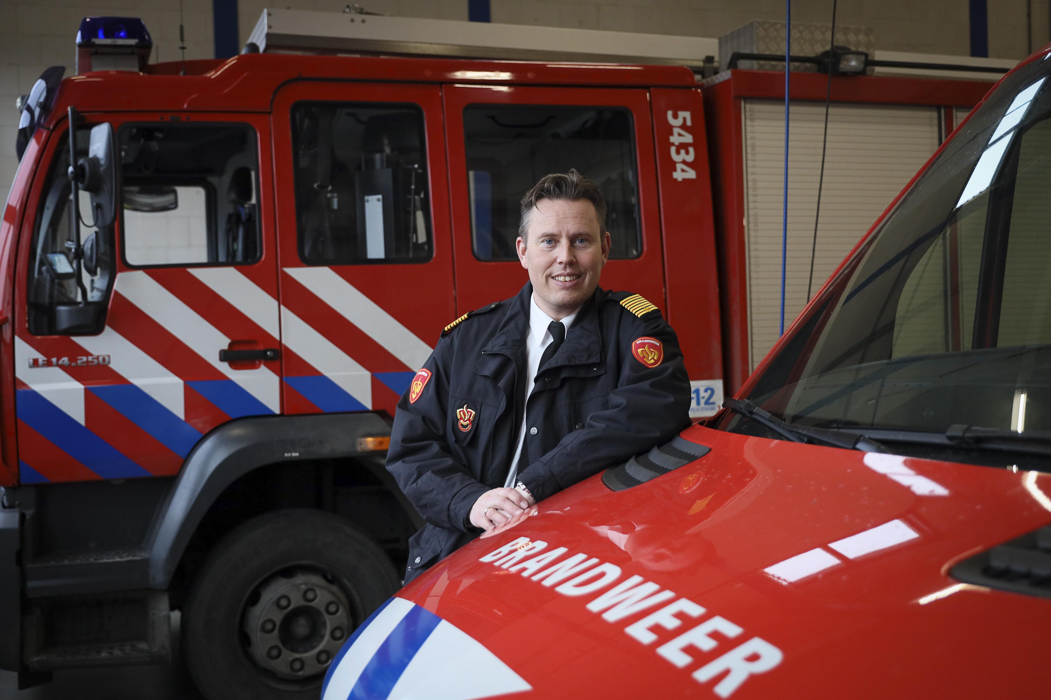 Kees Jong, regionaal commandant én kind van de brandweer West-Friesland