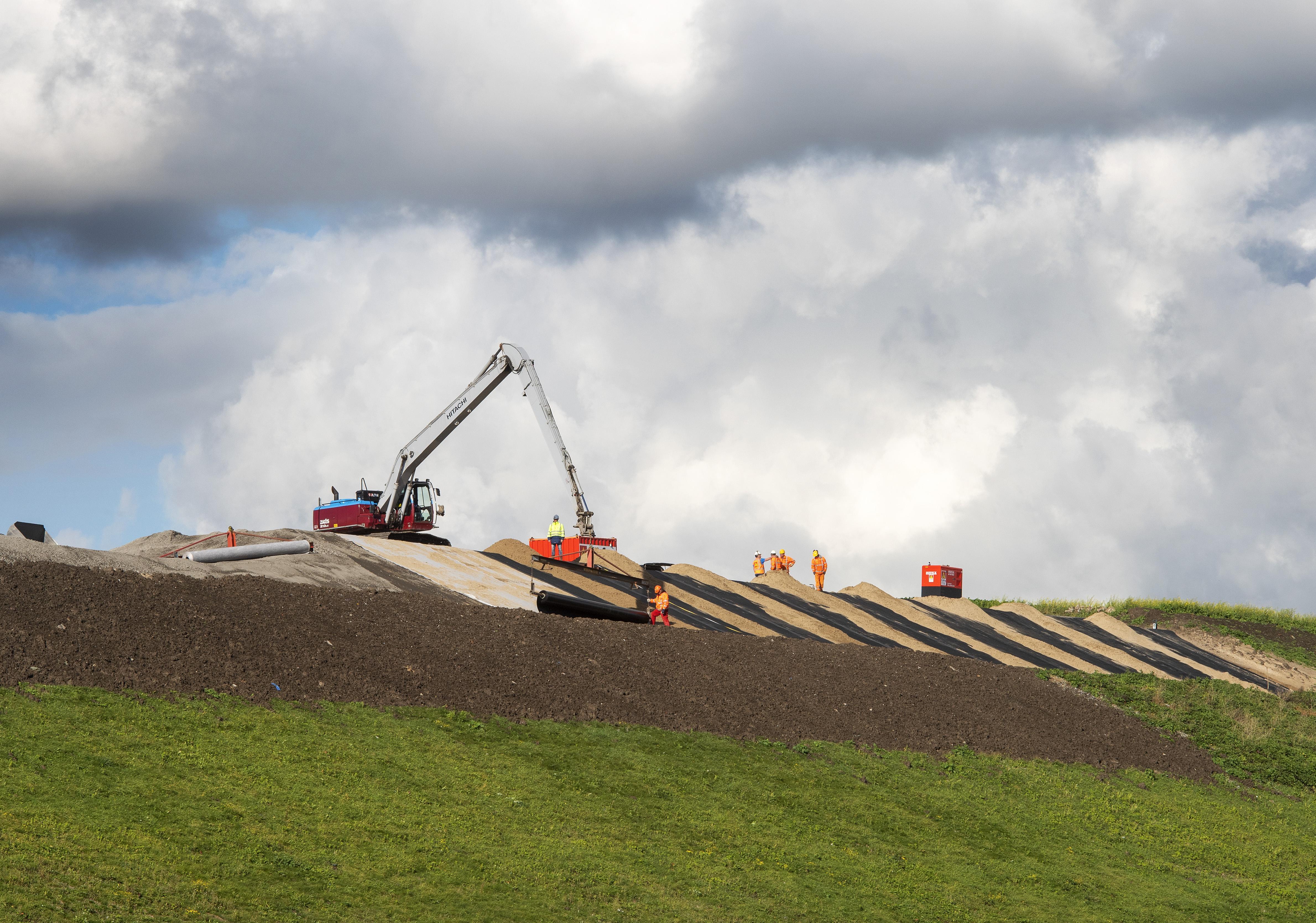 Bezorgdheid over bodemas bij Het Groene Schip
