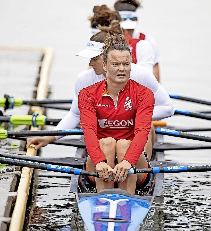'We snappen het verschil tussen een voorronde en een finale', aldus de Leidse roeister Nicole Beukers die net als Karolien Florijn haar Europese titel prolongeerde