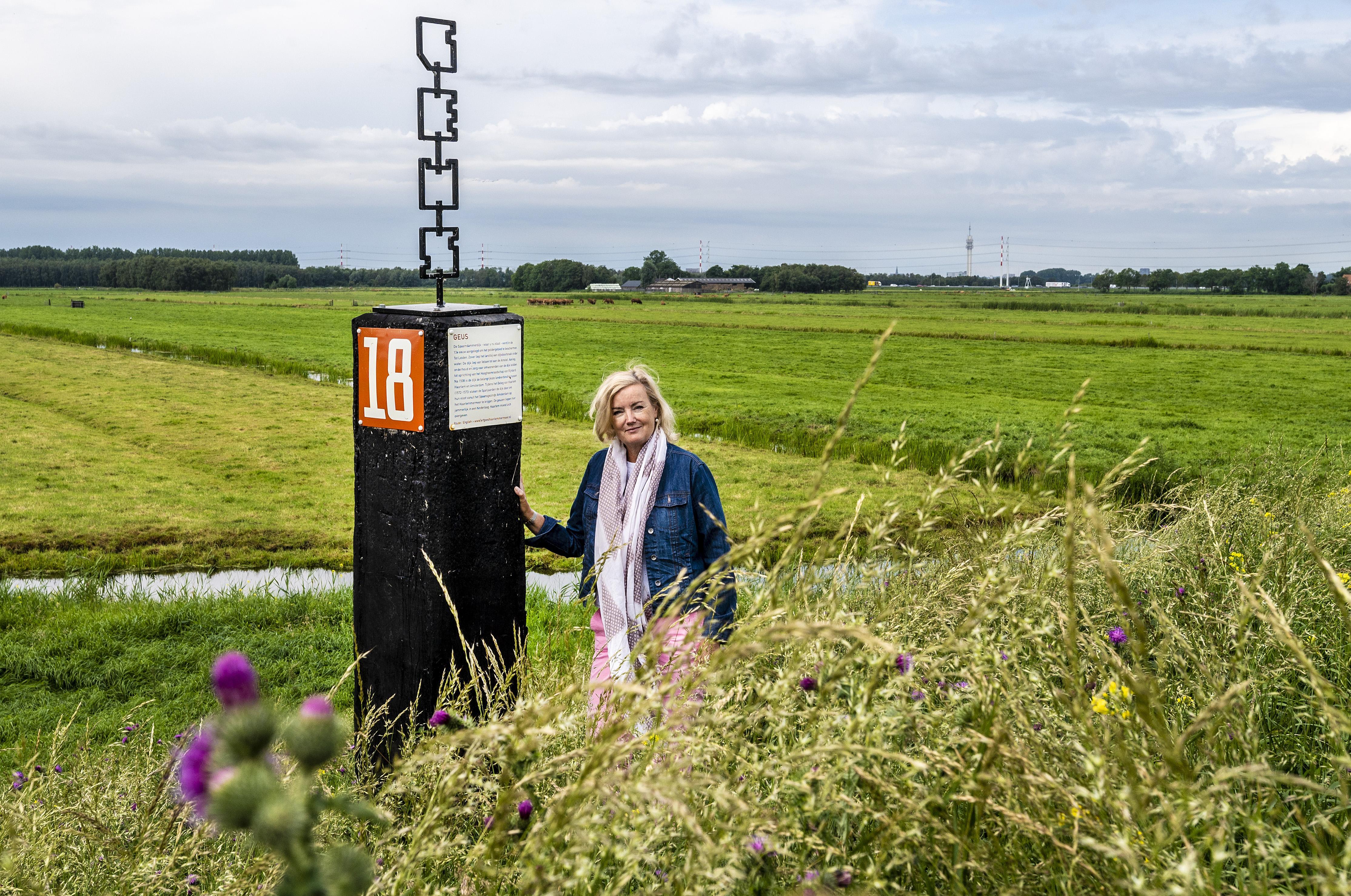 Veel verbeelding helpt bij de Haarlemmermeerse Verhalenpalen: hoor het gegil als een rat of snoek wegschiet