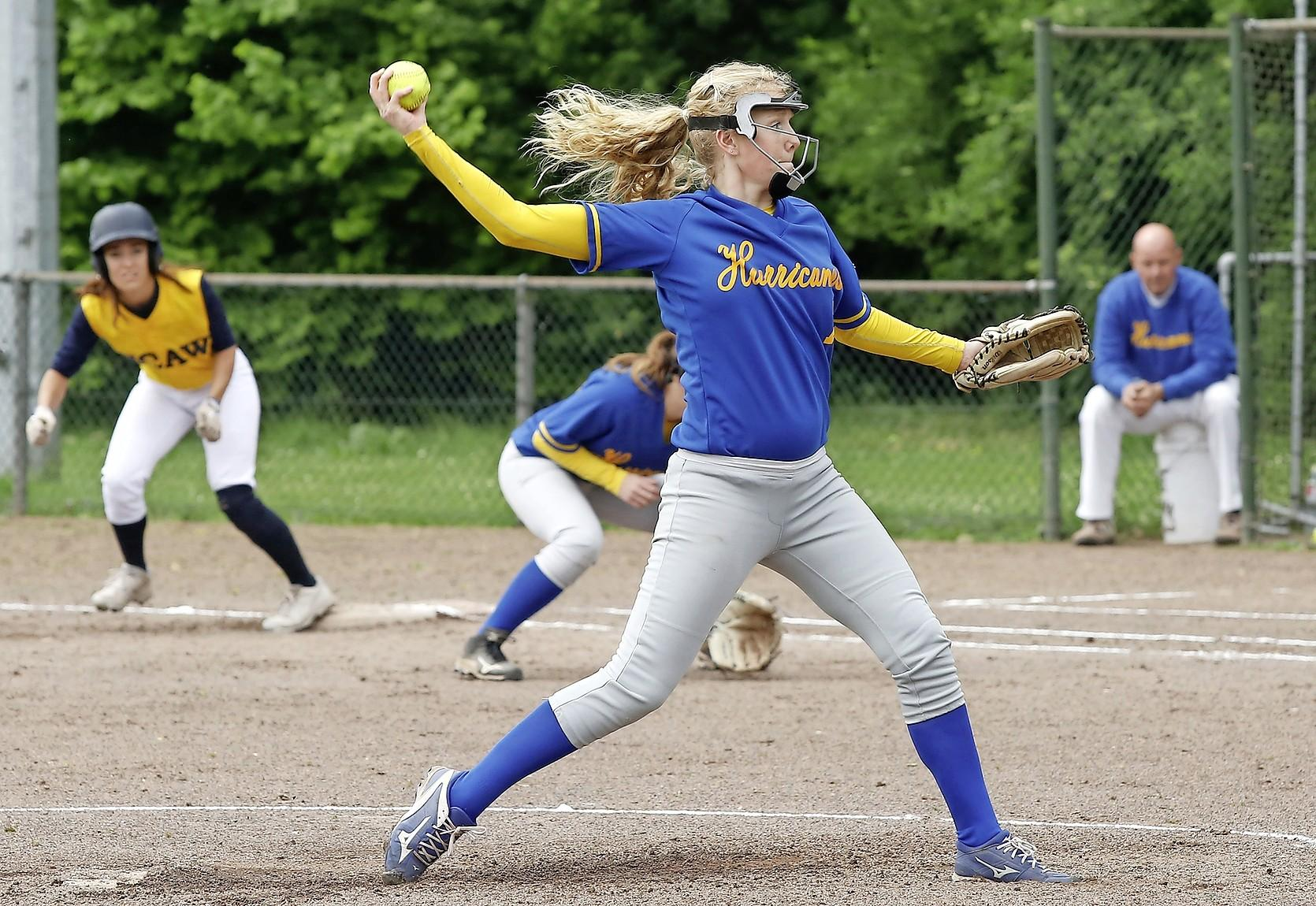 Hurricanes klopt HCAW in softbalderby