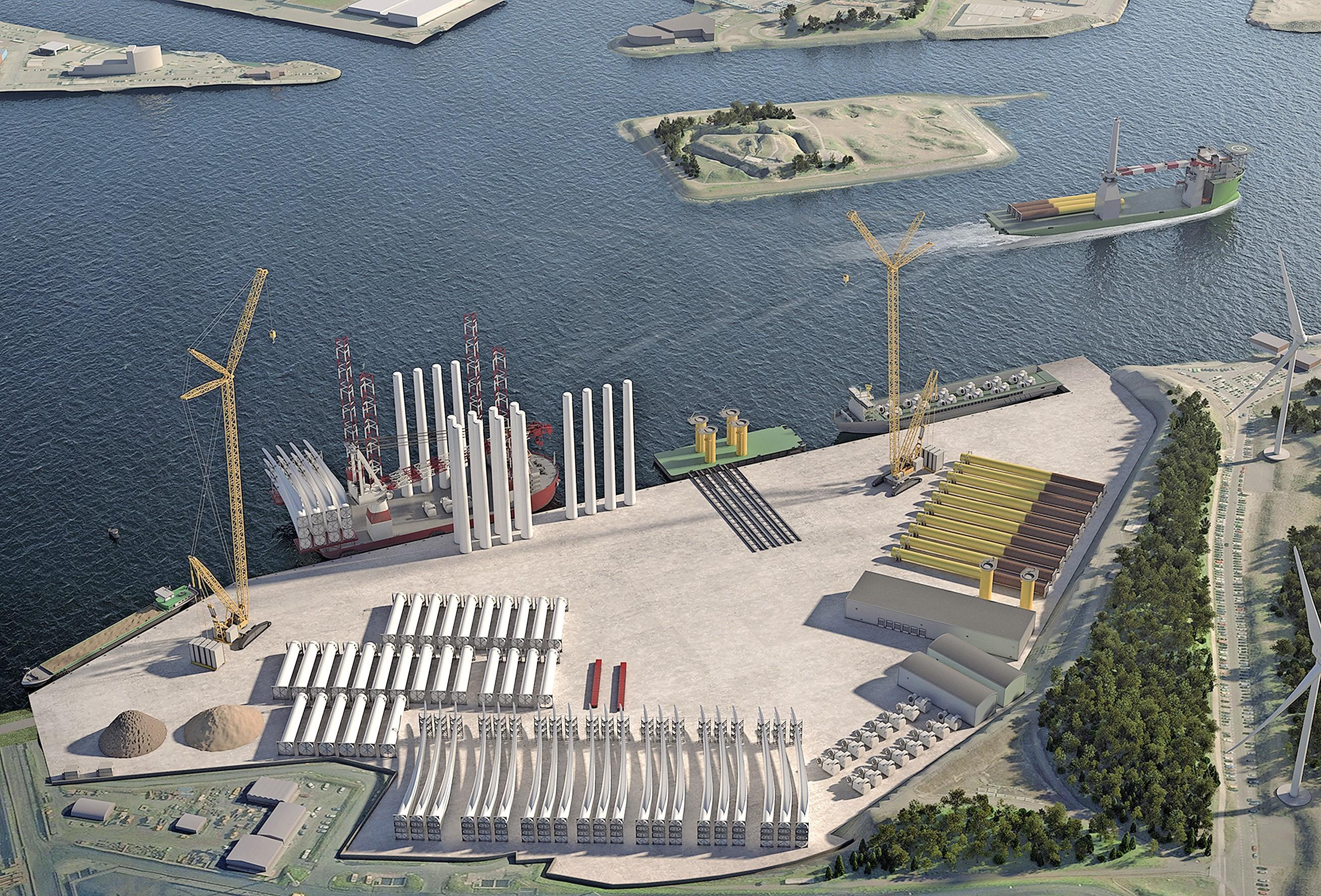 Het gaat de goede kant op met de aanleg van de Energiehaven bij Tata Steel. 'De procedures gaan binnenkort van start', zegt wethouder na een werkbezoek