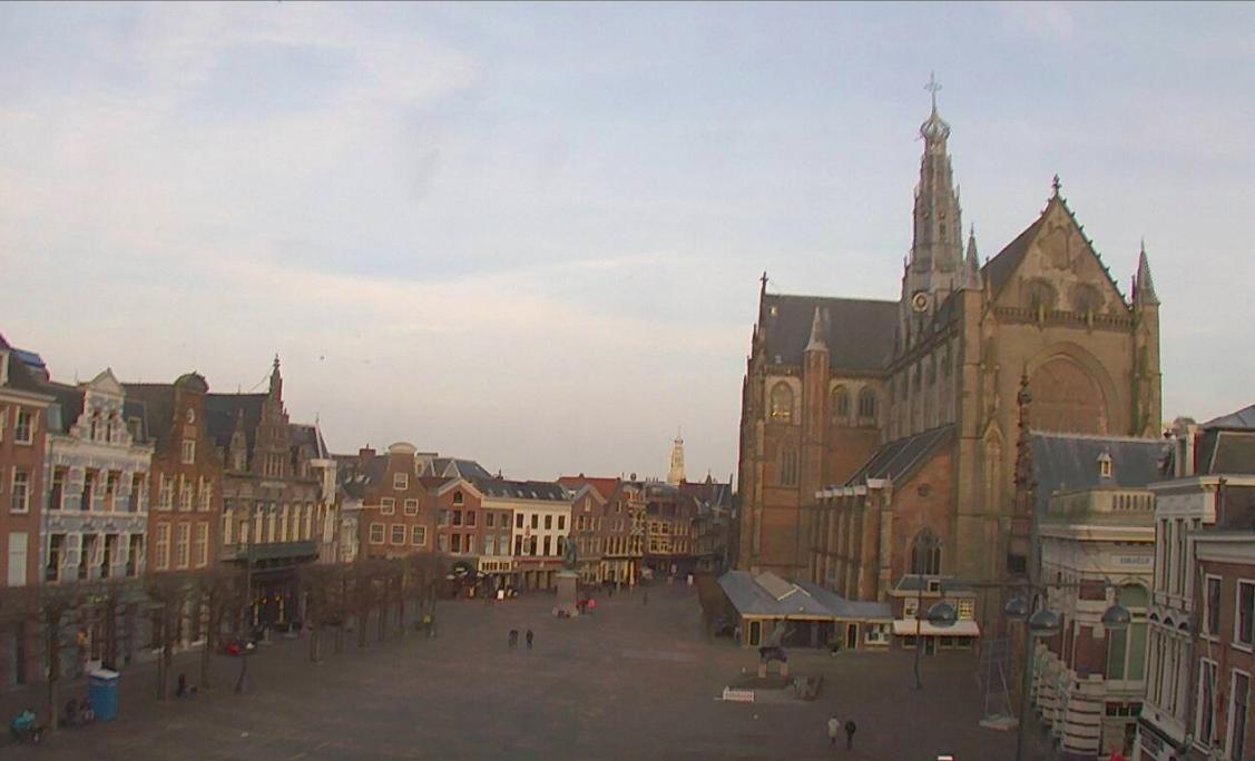 Webcam op de Grote Markt weg? Nee hoor: via een omweg zijn de beelden nog te zien