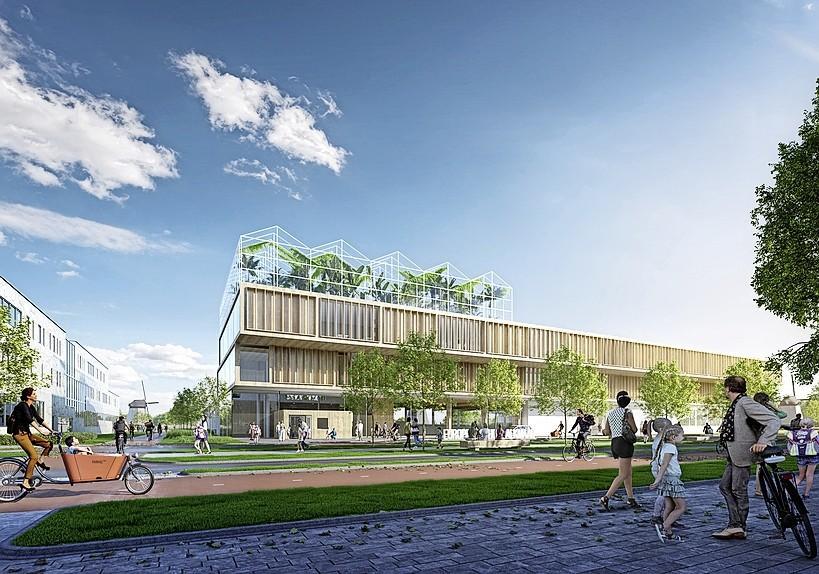 Ministerie bezoekt locatie Europese School in Alkmaar