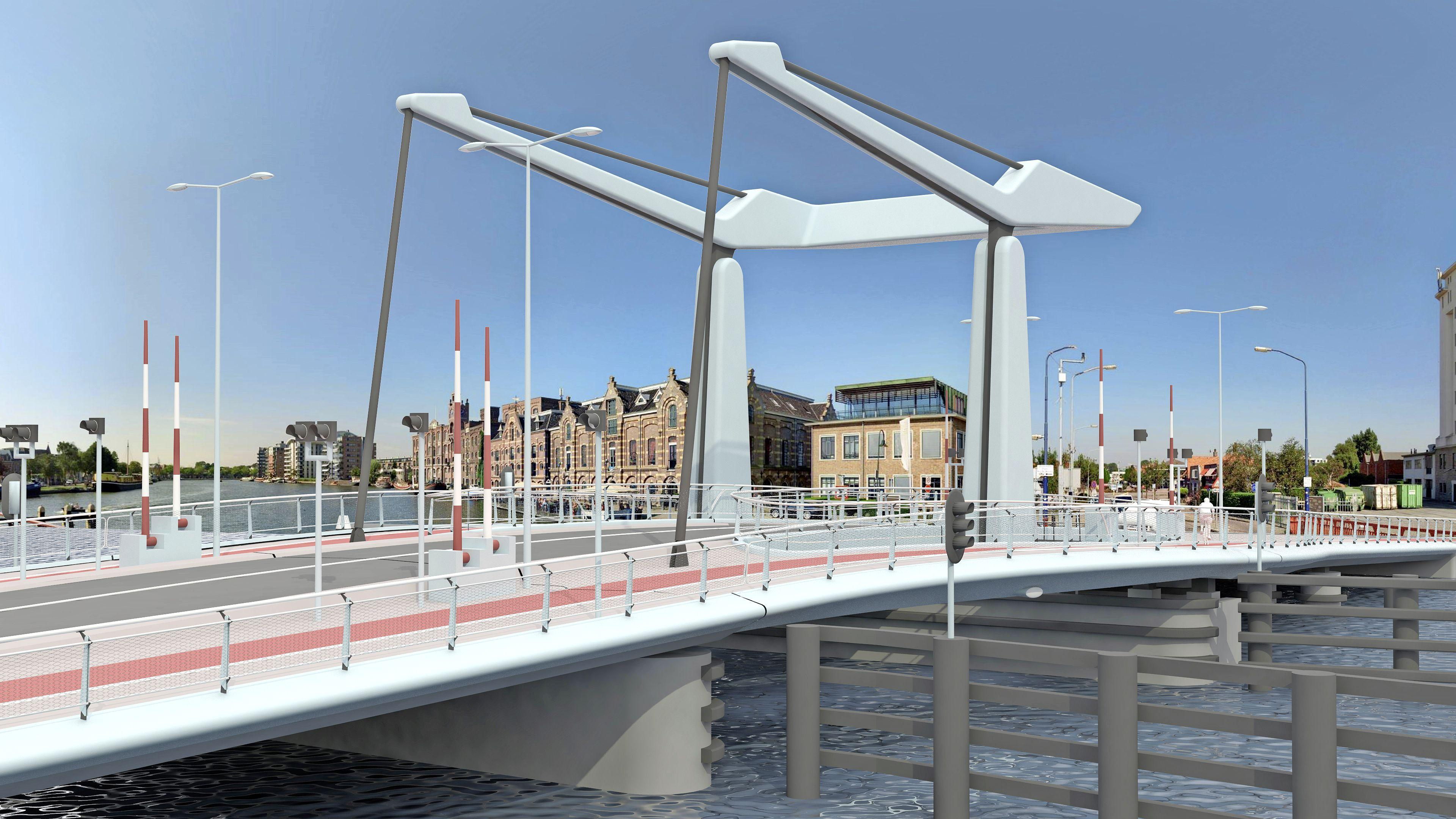 Meer verkeer en langer wachten voor noodbrug tussen Wormer en Wormerveer. Provincie onderzoekt of brug minder vaak open kan.