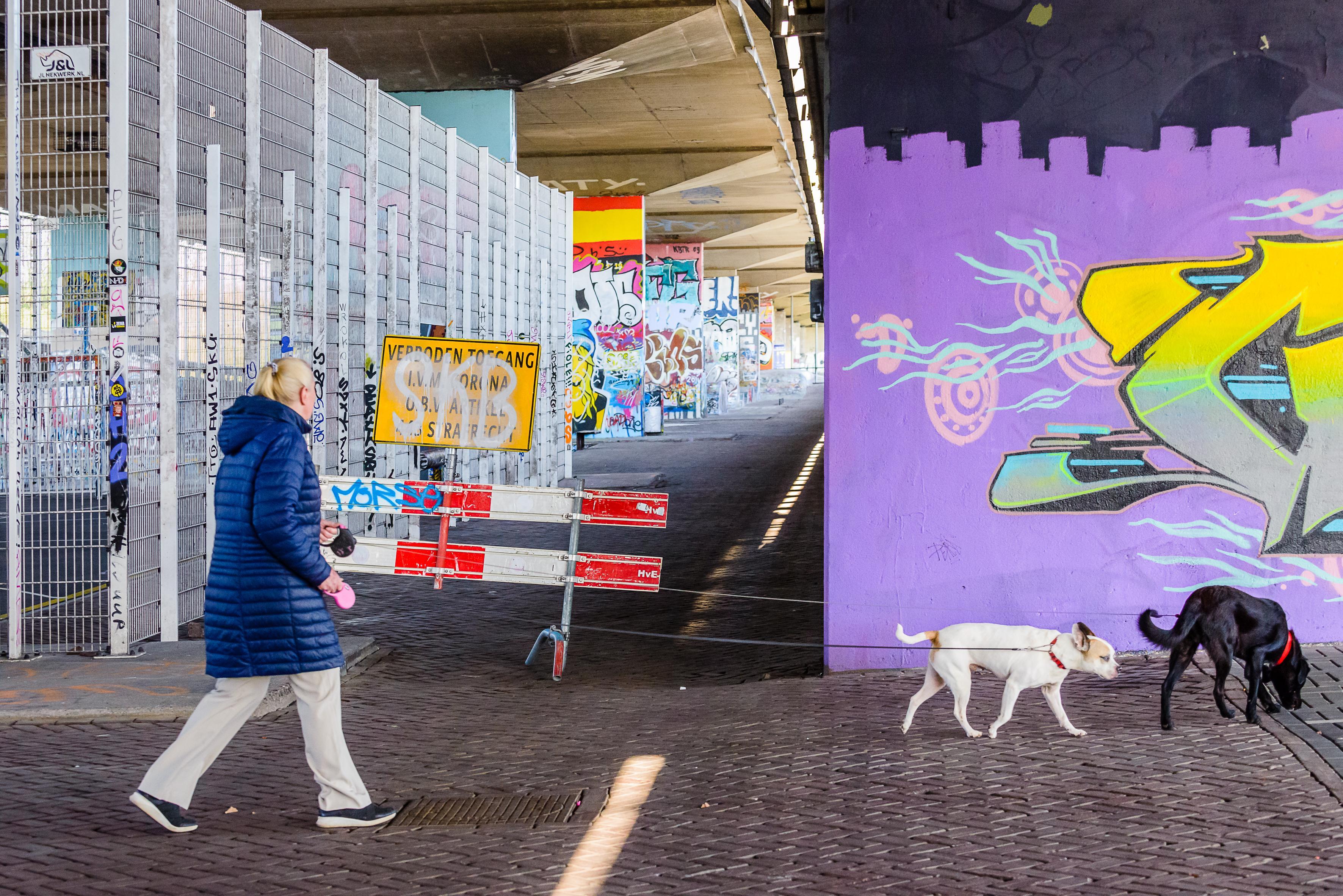 Skatepark onder A8 in Koog aan de Zaan voor onbepaalde tijd gesloten