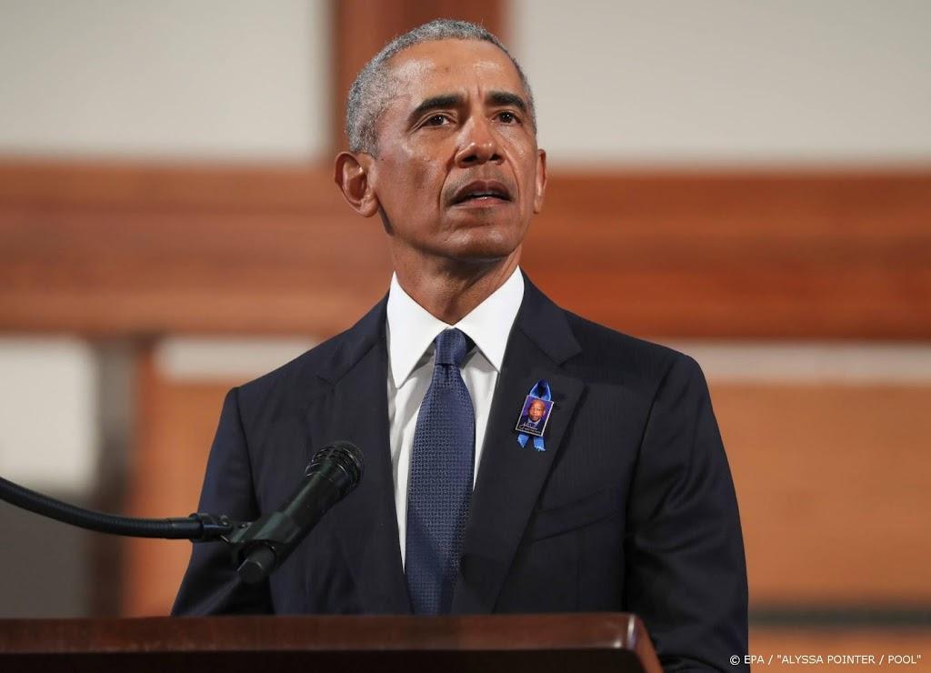 Obama's omlijsten benoeming Biden tot presidentskandidaat