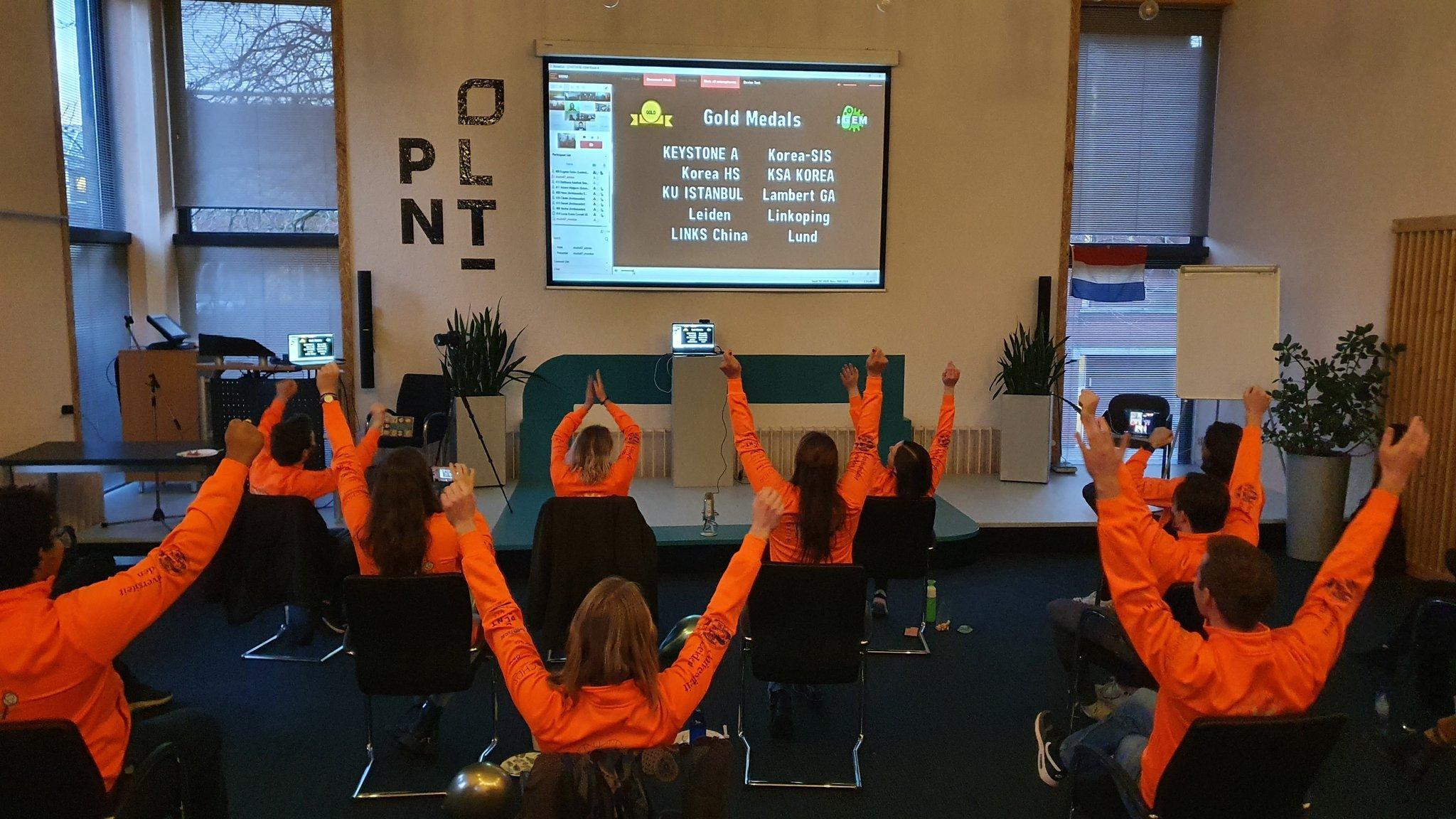 Leids studententeam wint prestigieuze wedstrijd iGem met testkit
