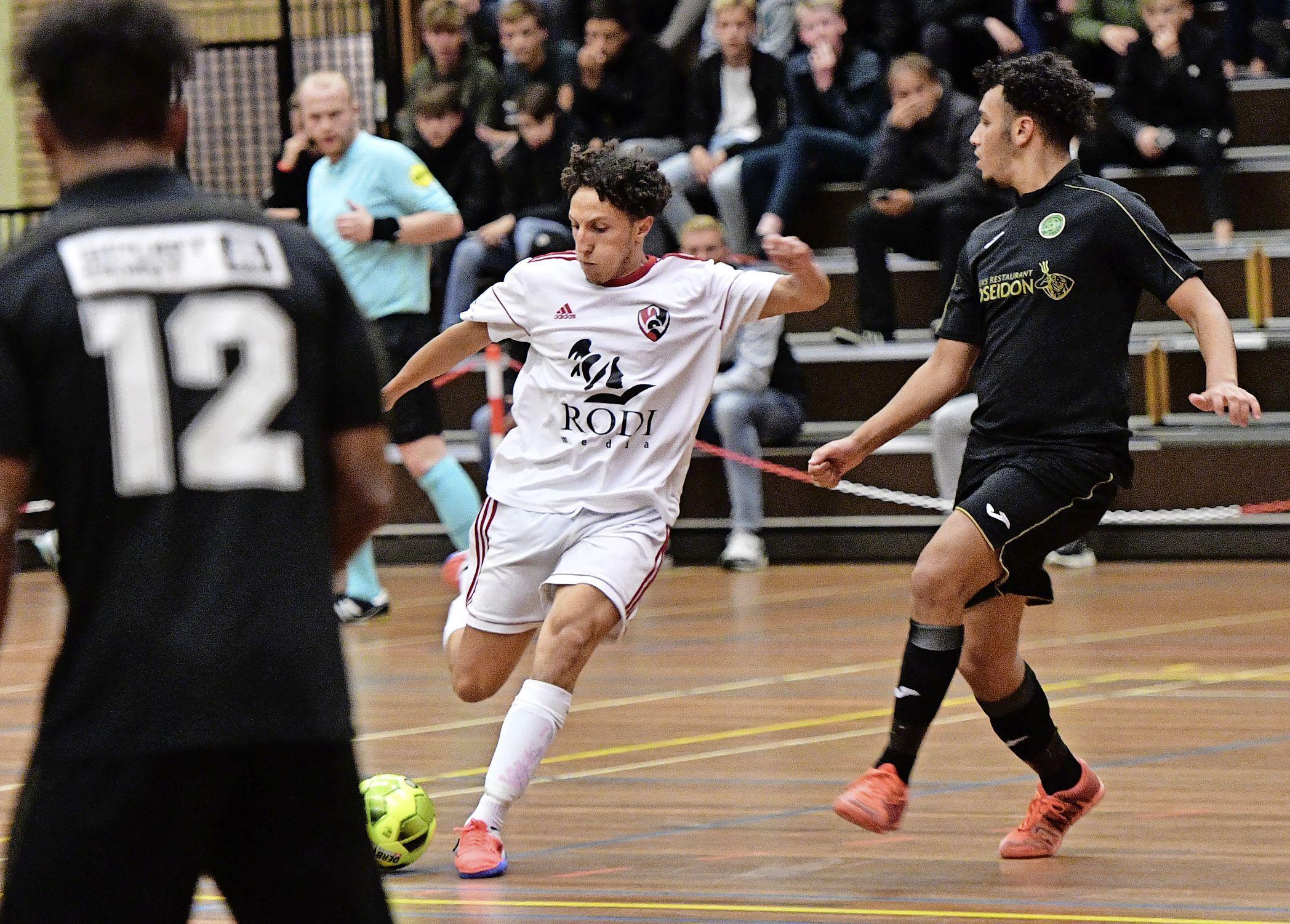 Yassine Zakir van White Stones naar Telstar: 'En dan mag hij niet meer zaalvoetballen'