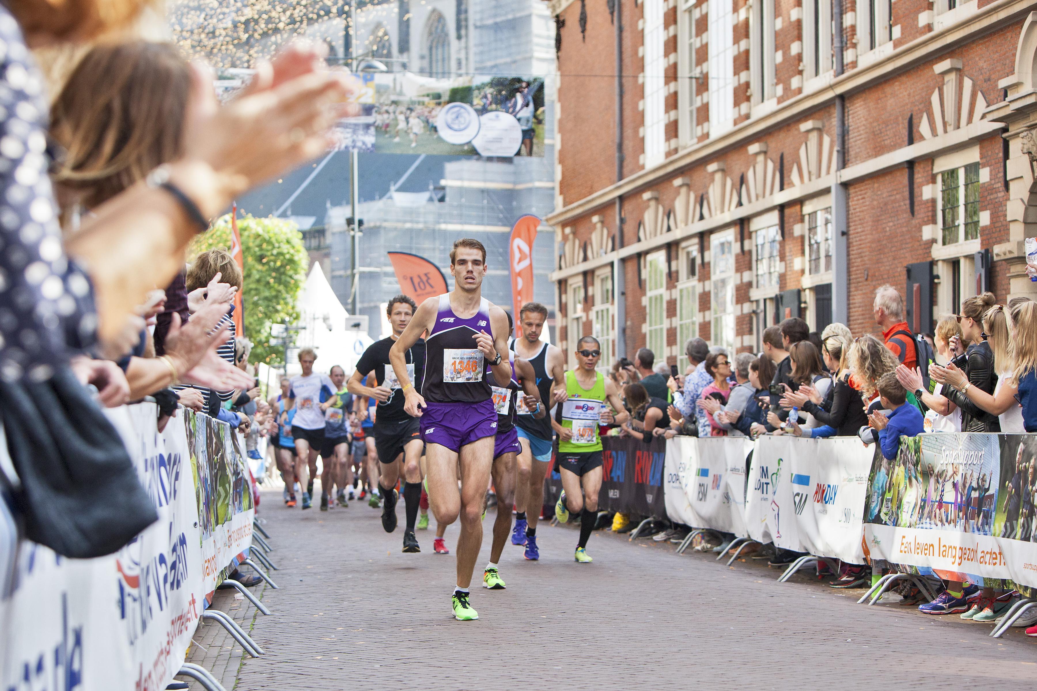 Halve van Haarlem: Nazomers hardloopfeest [video]