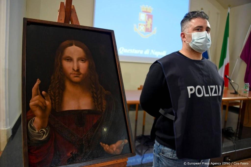 Politie vindt gestolen kopie van Leonardo's Salvator Mundi