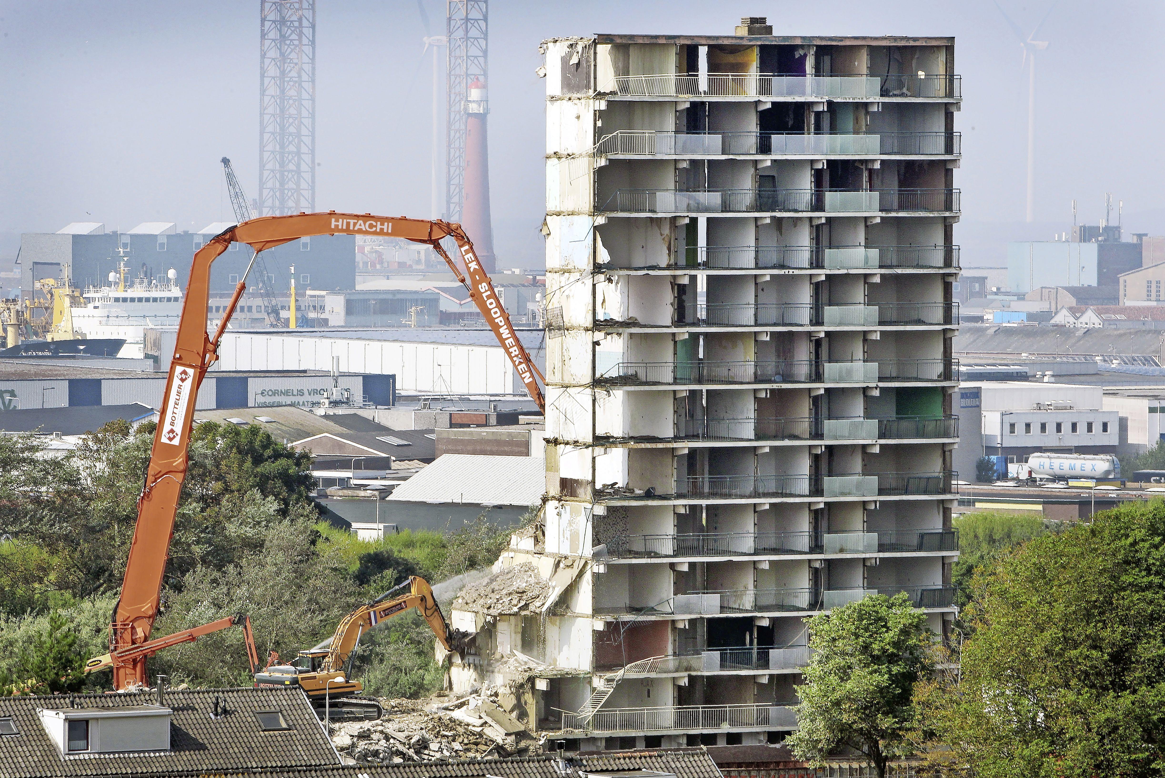 De gemeente Velsen is ineens duizend huizen kwijt, maar weet eigenlijk niet goed waarom