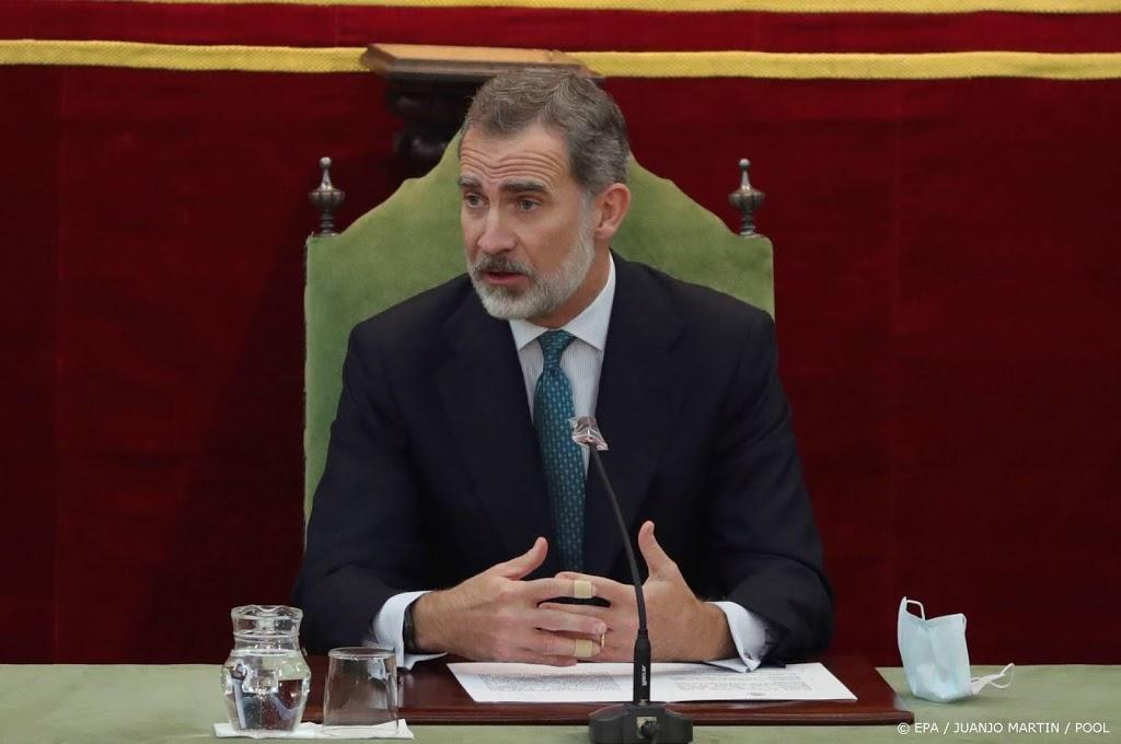 Spaanse koning in zelfisolatie na contact met besmet persoon