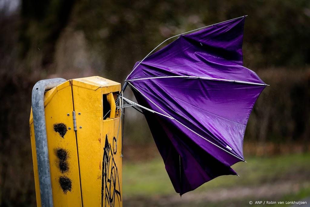 Waarschuwing voor zware windstoten vrijdag